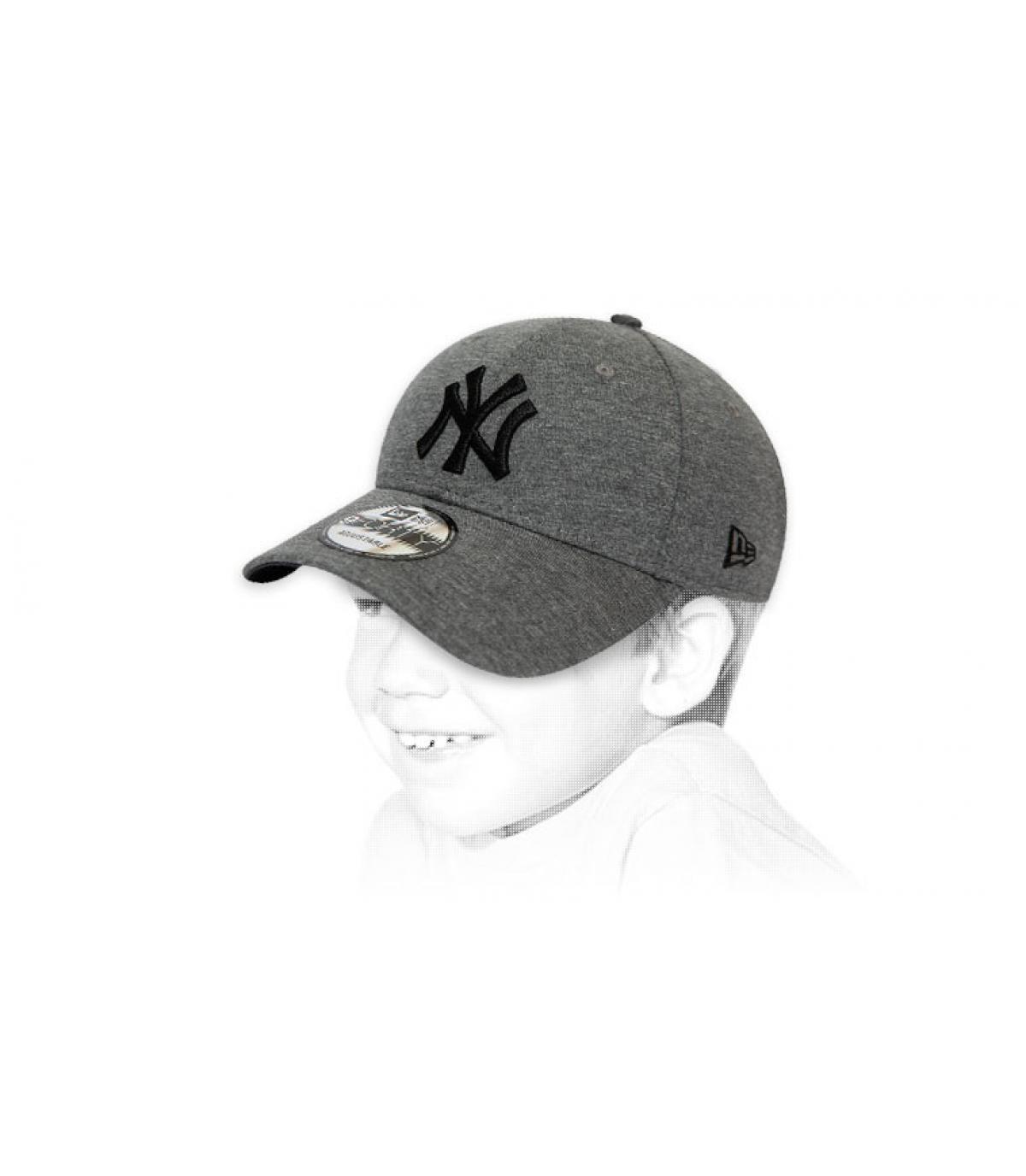 casquette enfant NY gris
