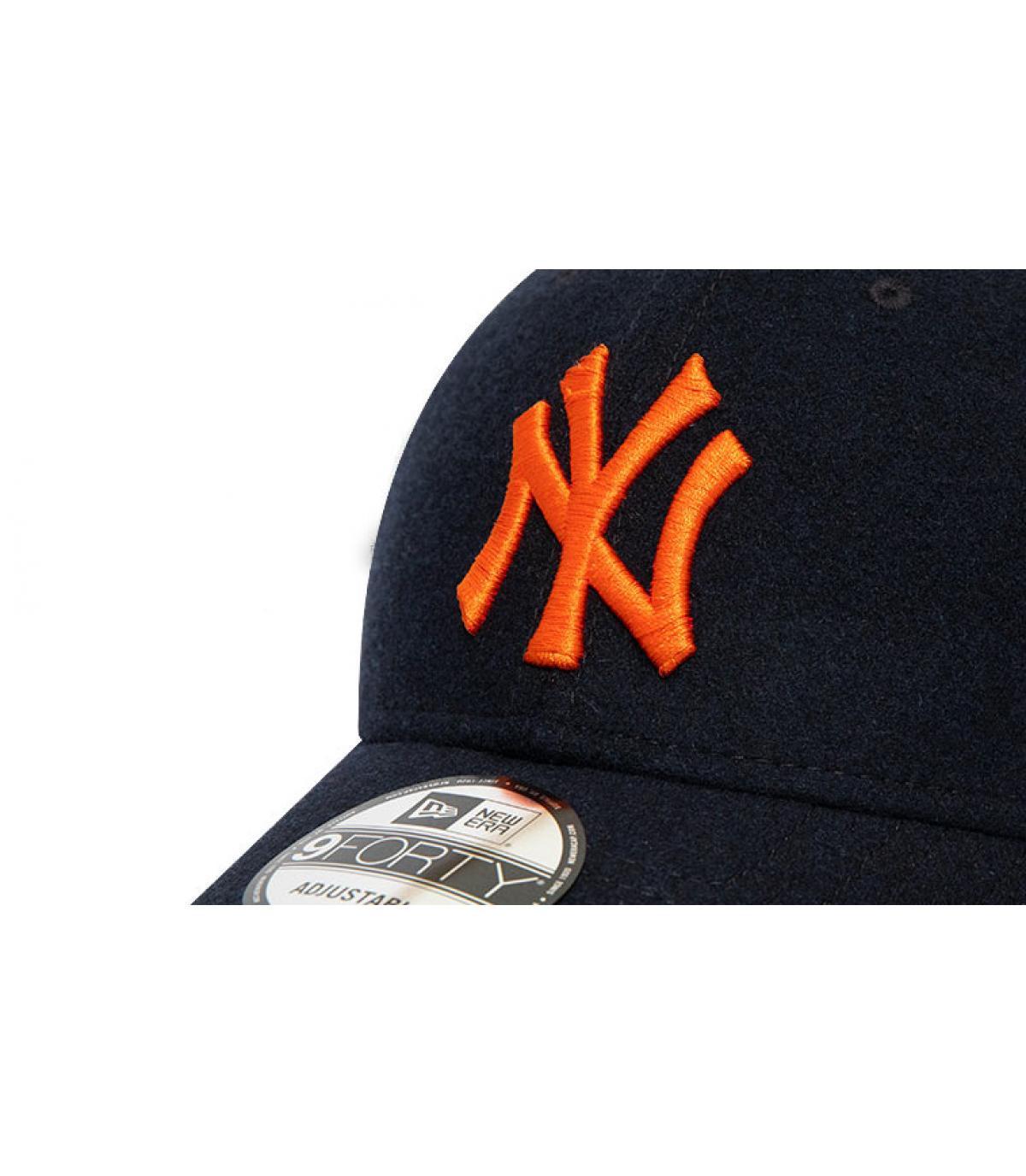 Détails Casquette Kids League Ess NY 940 black orange - image 3