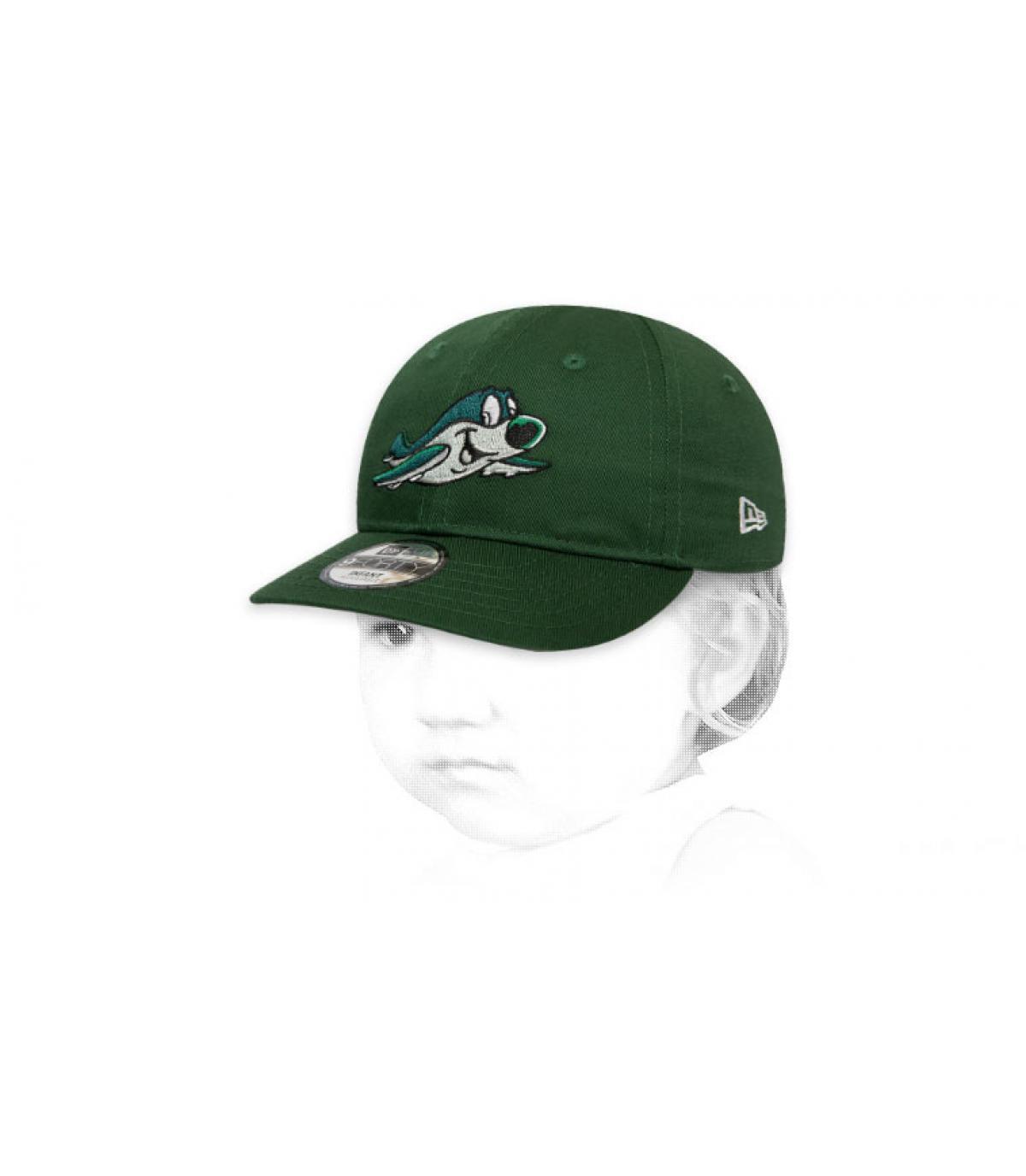 casquette Jets bébé vert
