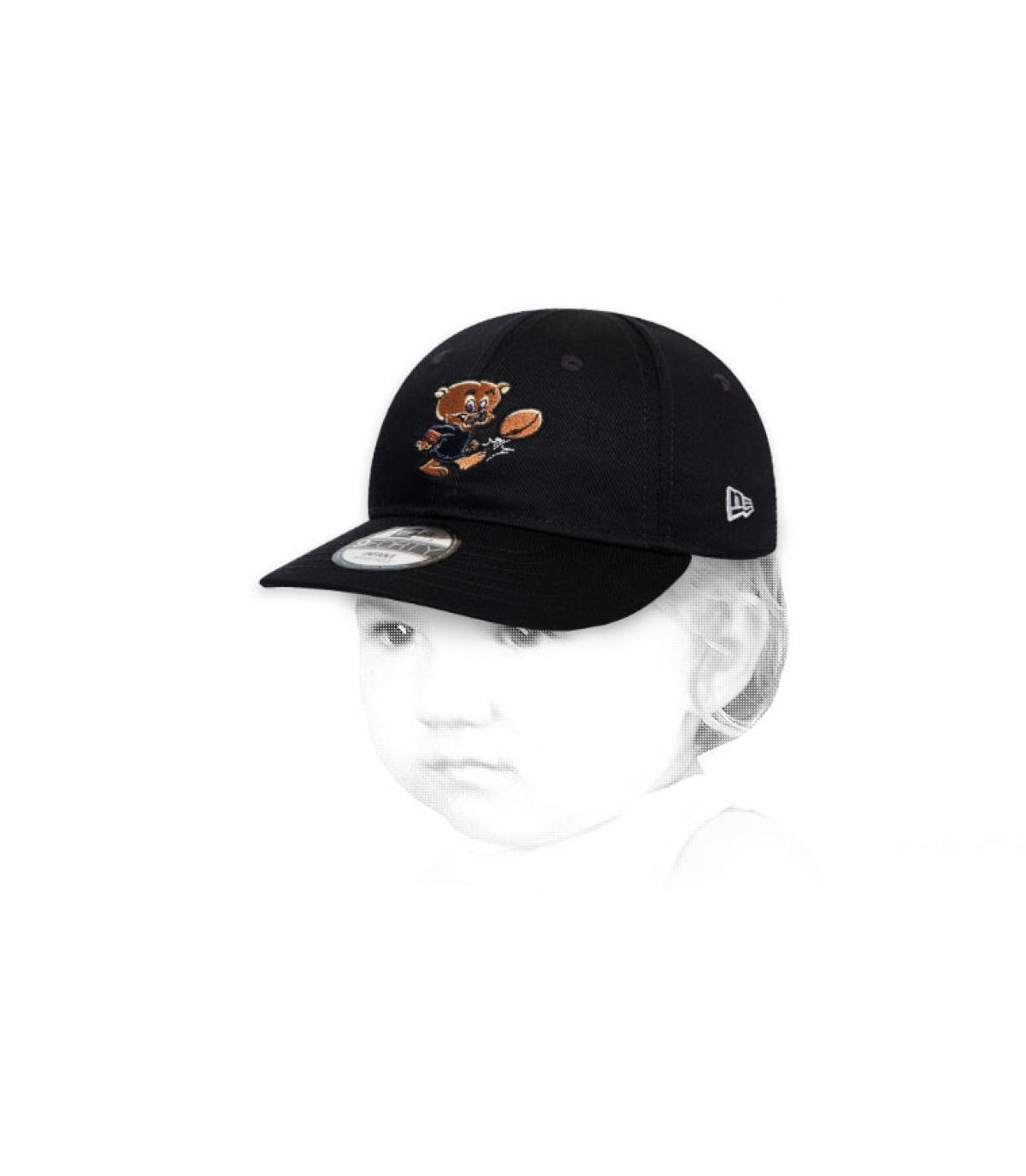 casquette Bears bébé noir
