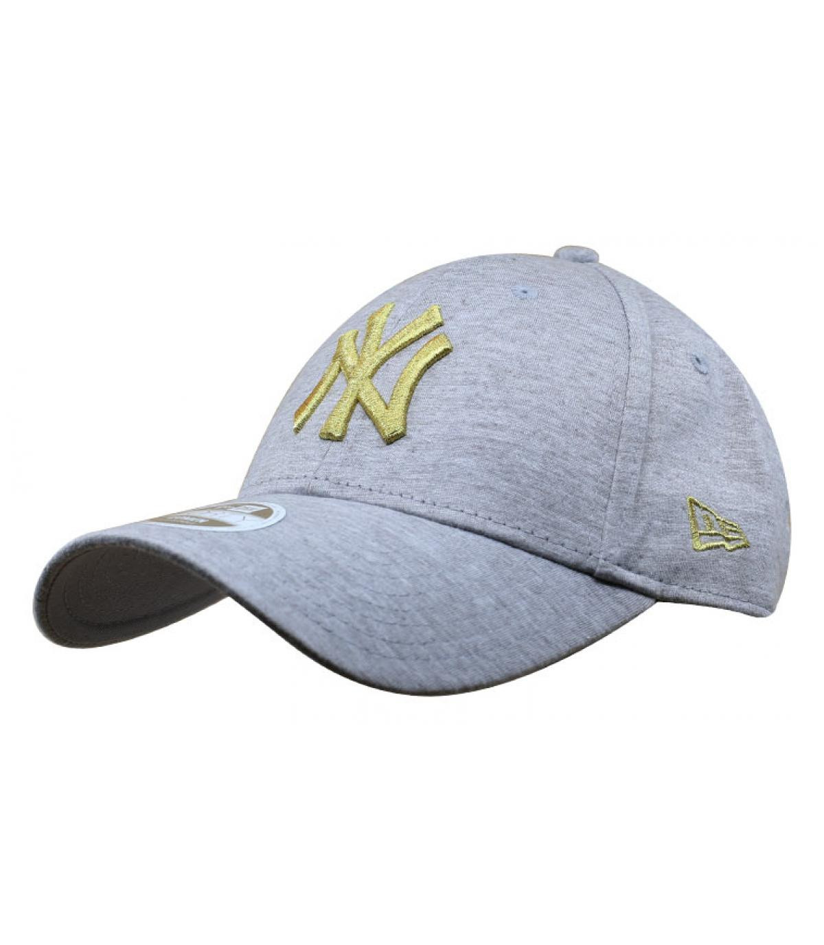 Détails Casquette Wmn Jersey NY 940 gray gold - image 2