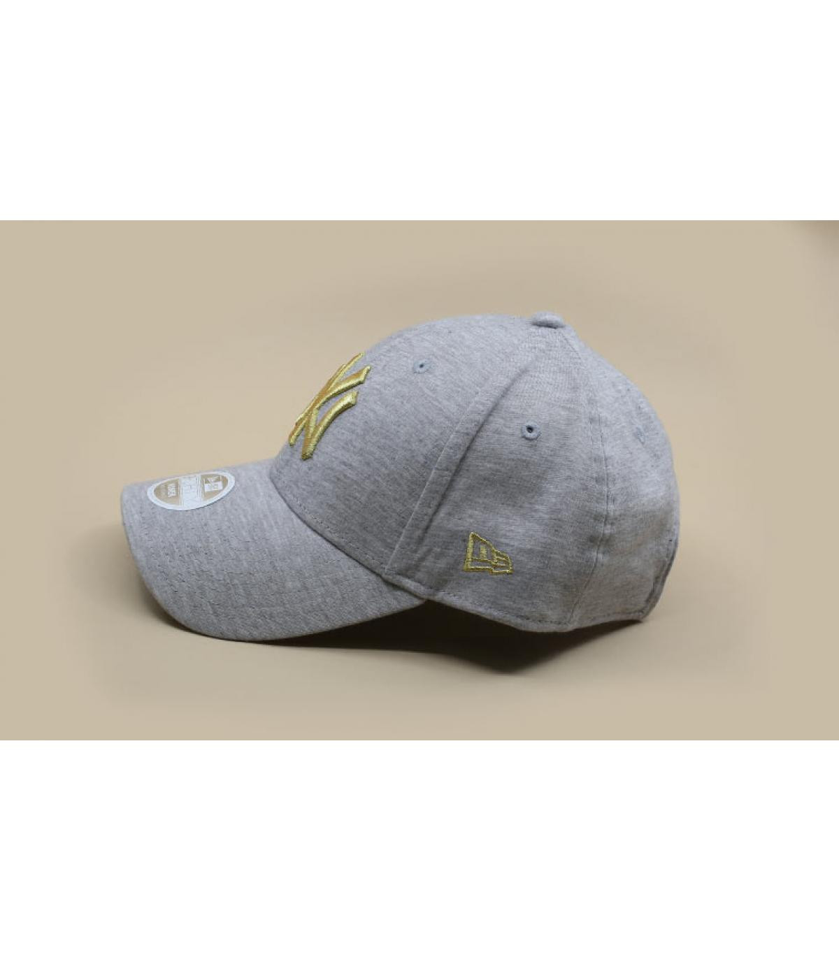 Détails Casquette Wmn Jersey NY 940 gray gold - image 4