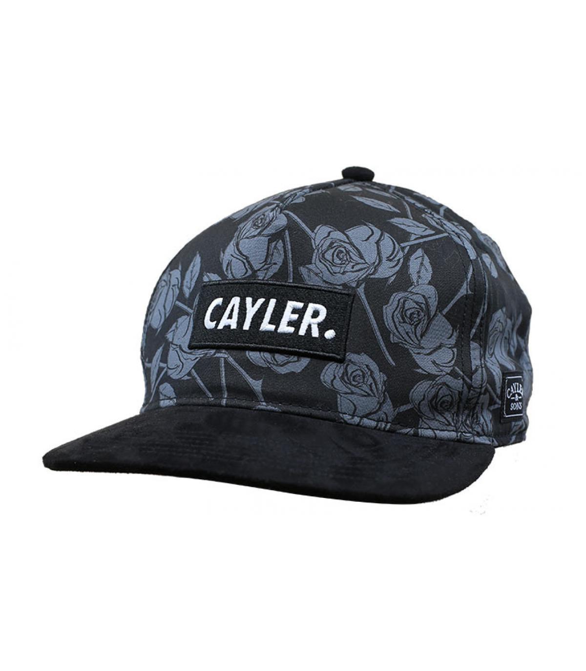 snapback roses noir Cayler