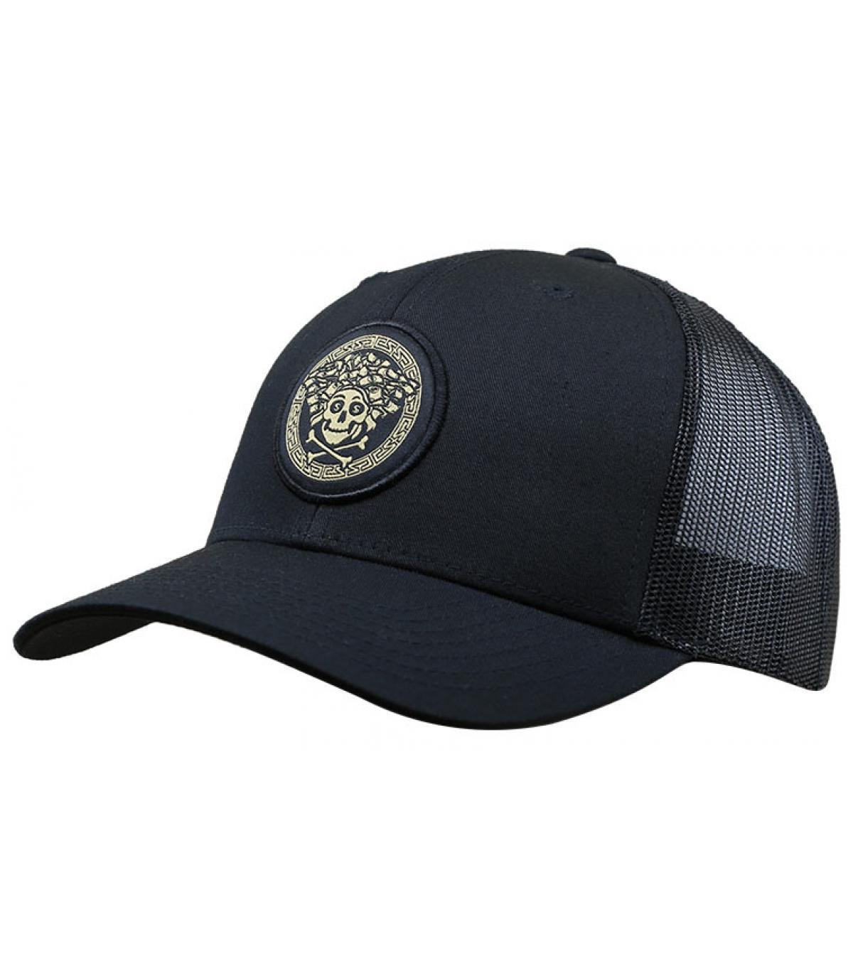 trucker noir Cayler patch
