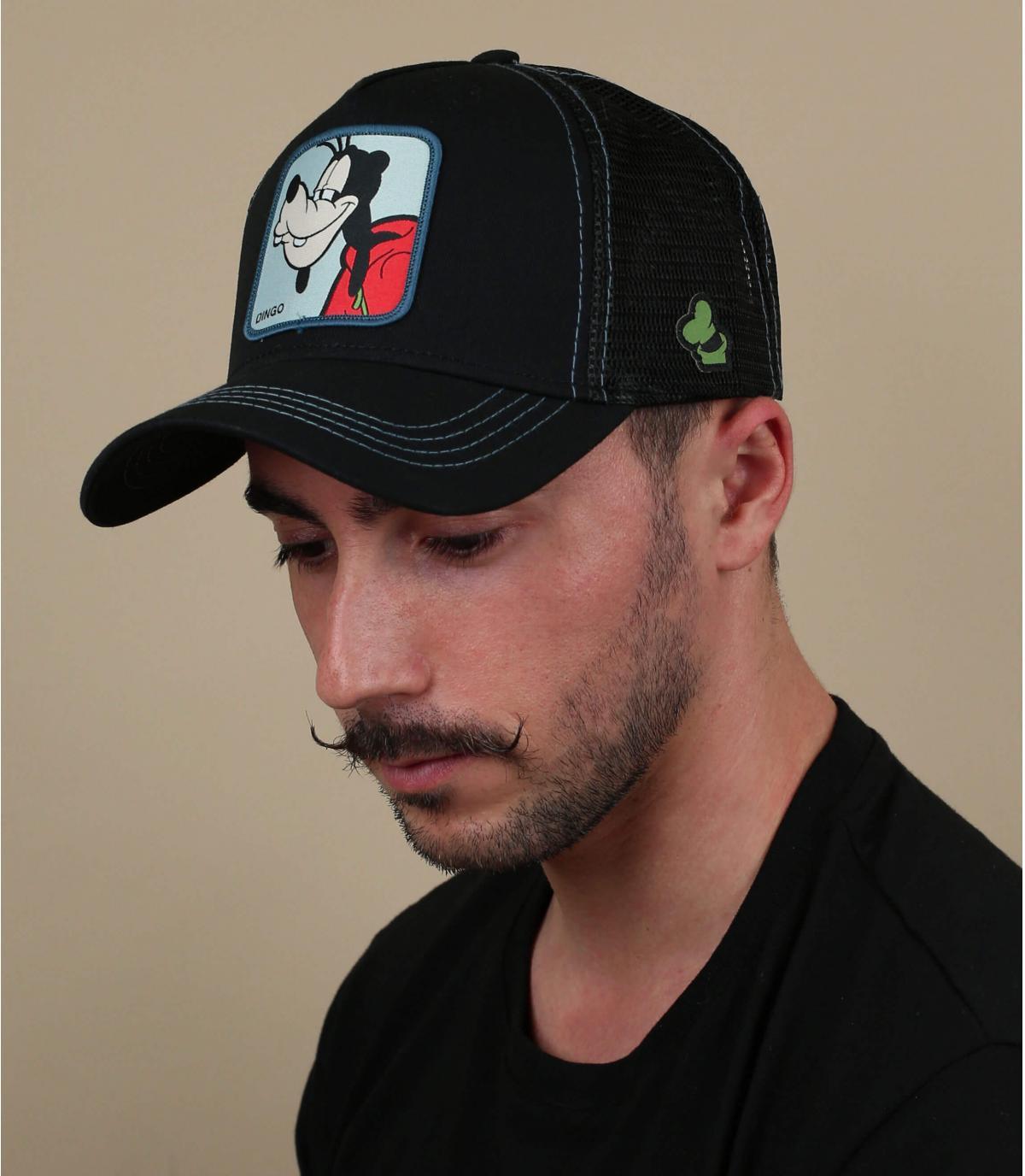casquette trucker Dingo noir