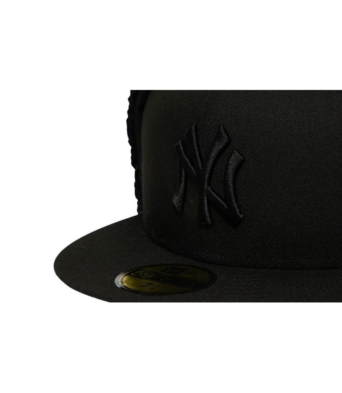 Détails Casquette League Ess Dogear NY 5950 black black - image 3
