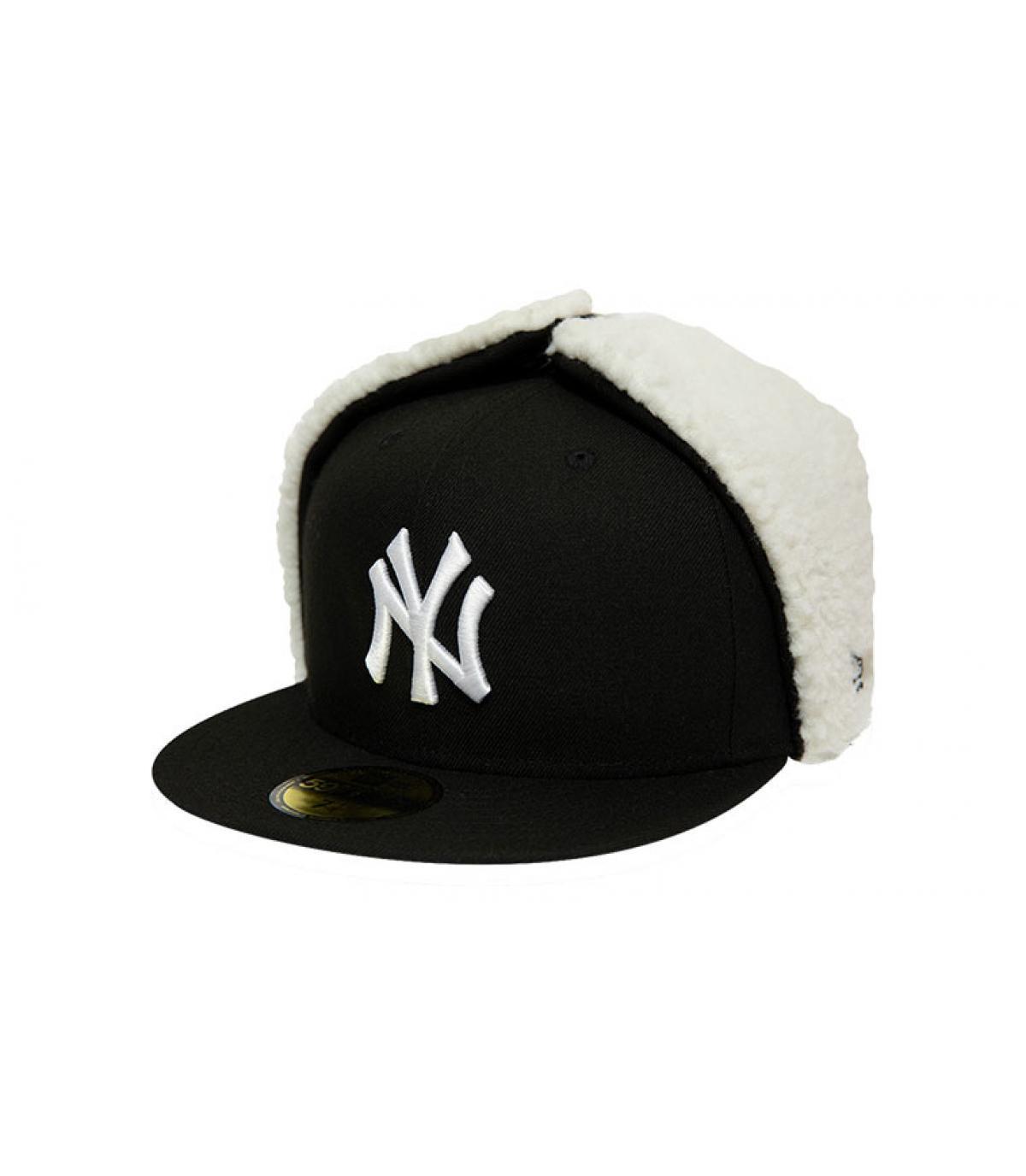 Détails Casquette League Ess Dogear NY 5950 black white - image 2