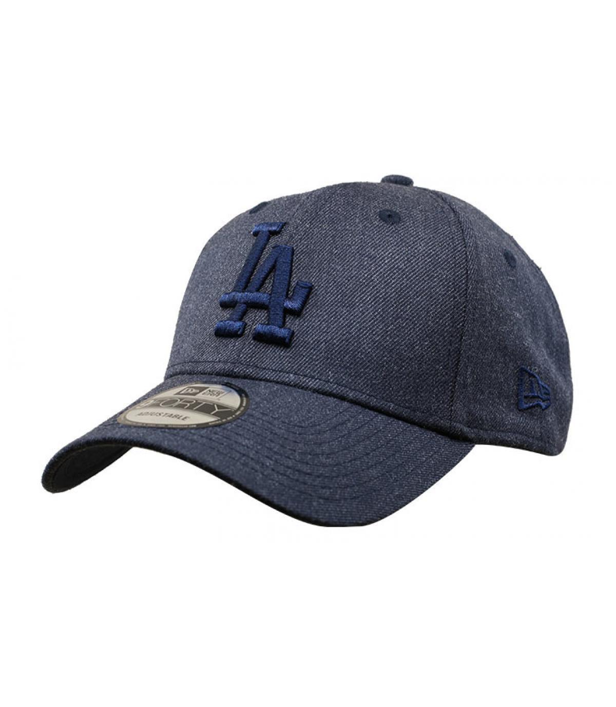 casquette LA bleu
