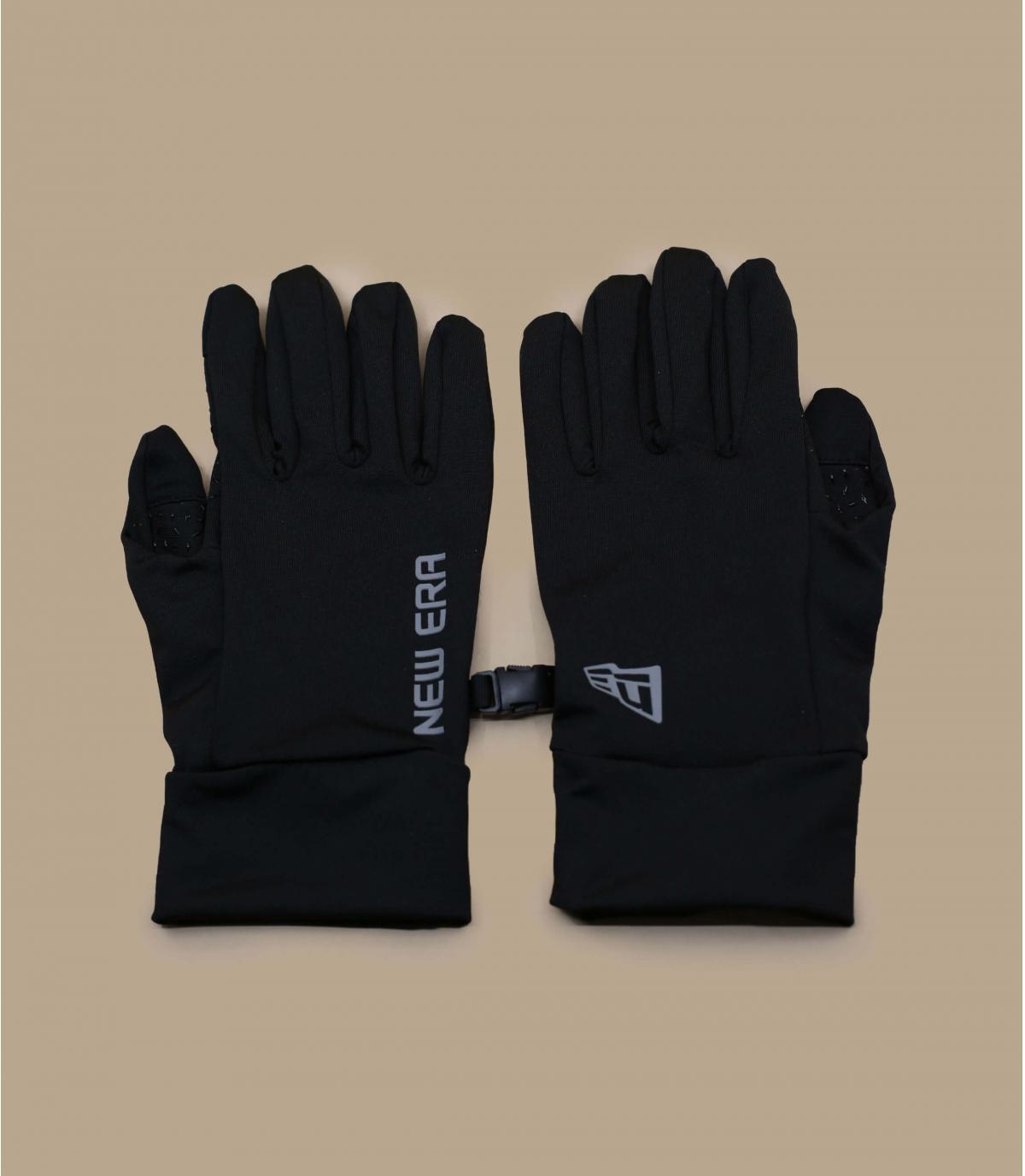Détails Electronic Touch Gloves black - image 2