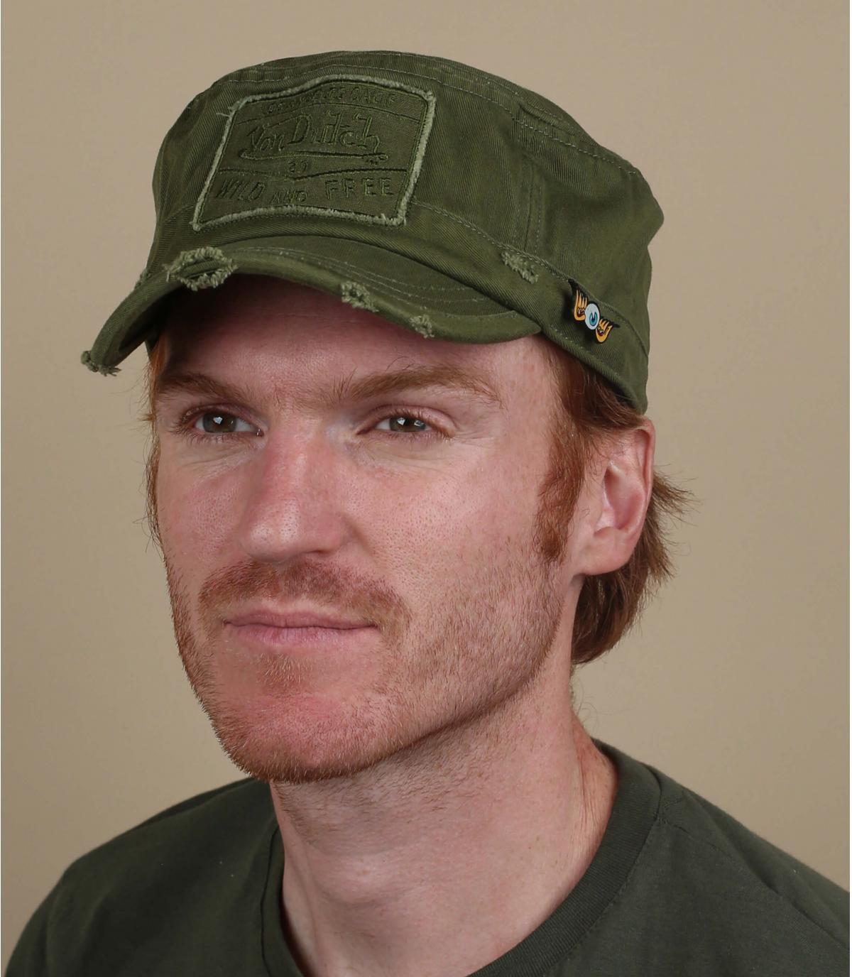 casquette army vert Von Dutch