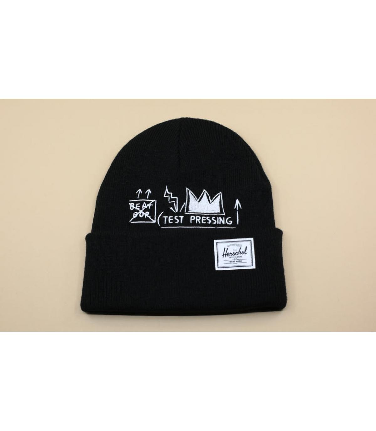 bonnet Basquiat noir Herschel