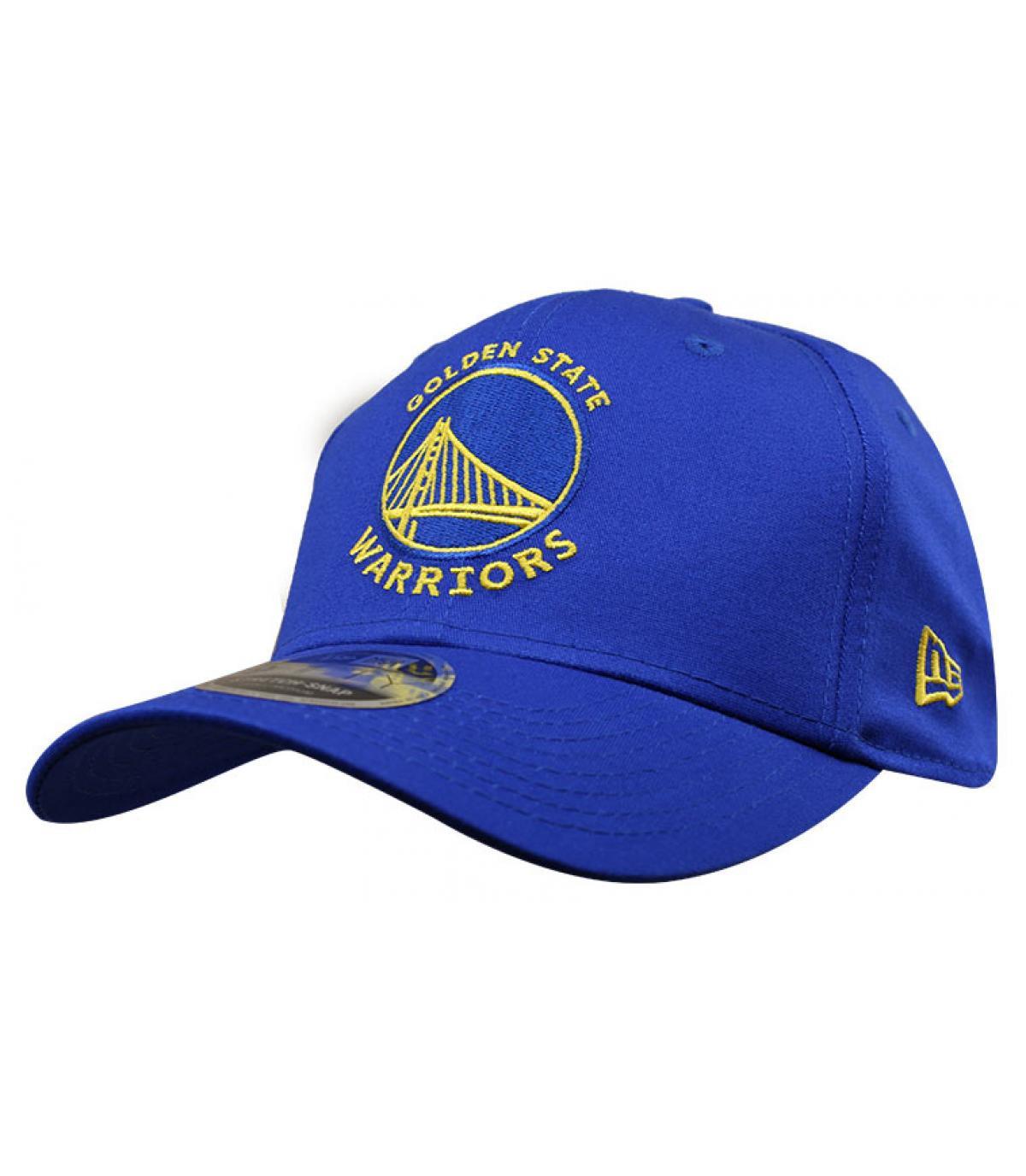 casquette Warriors bleu