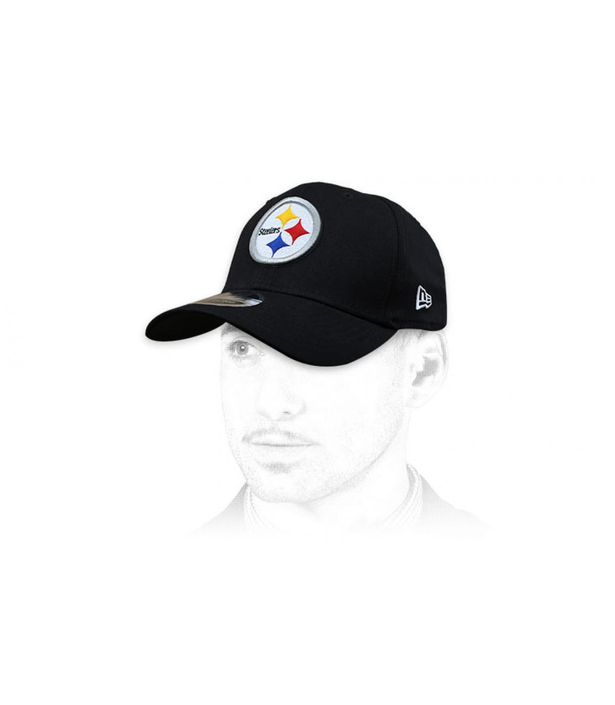 casquette Steelers noir