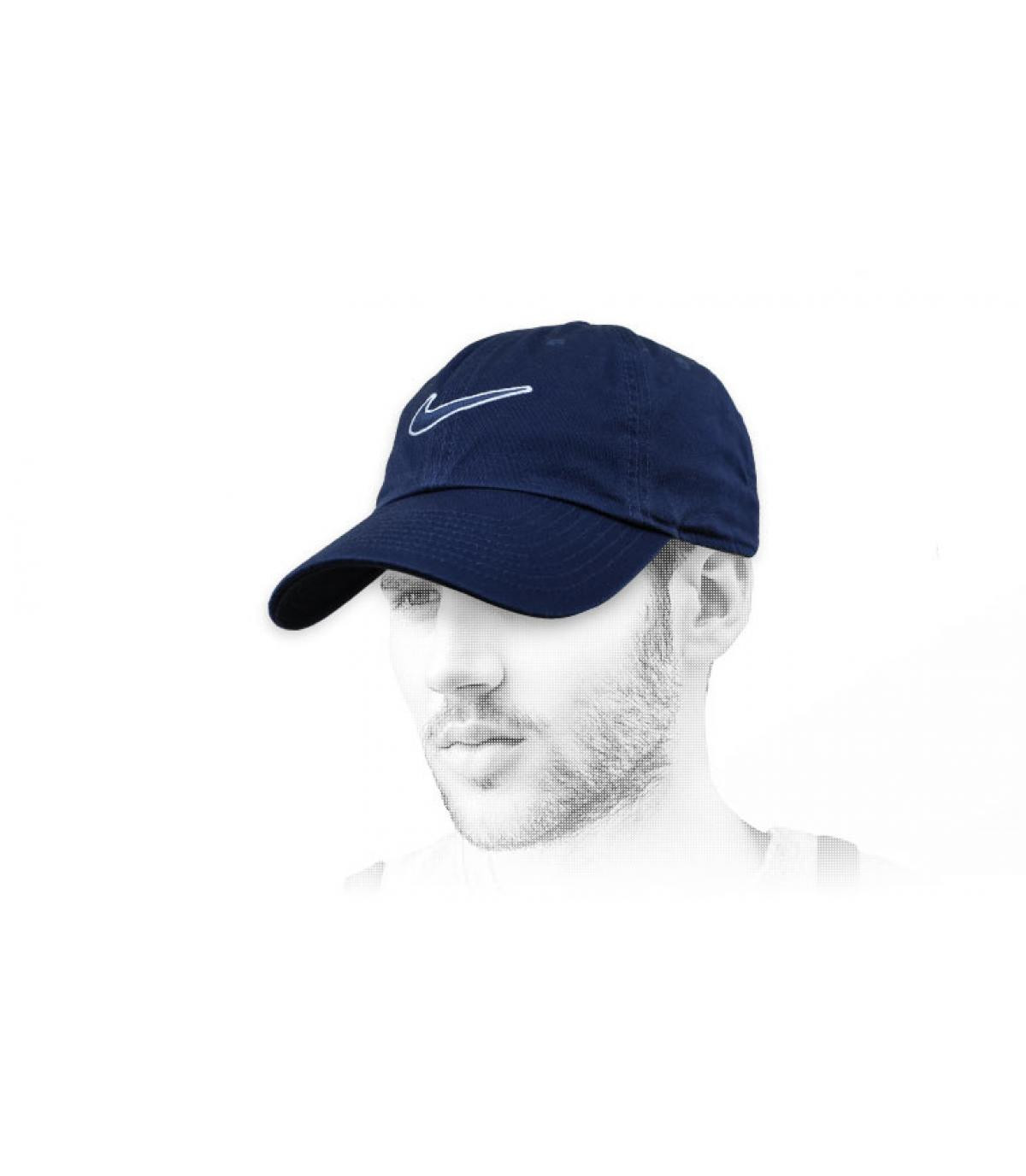 casquette Nike swoosh noir
