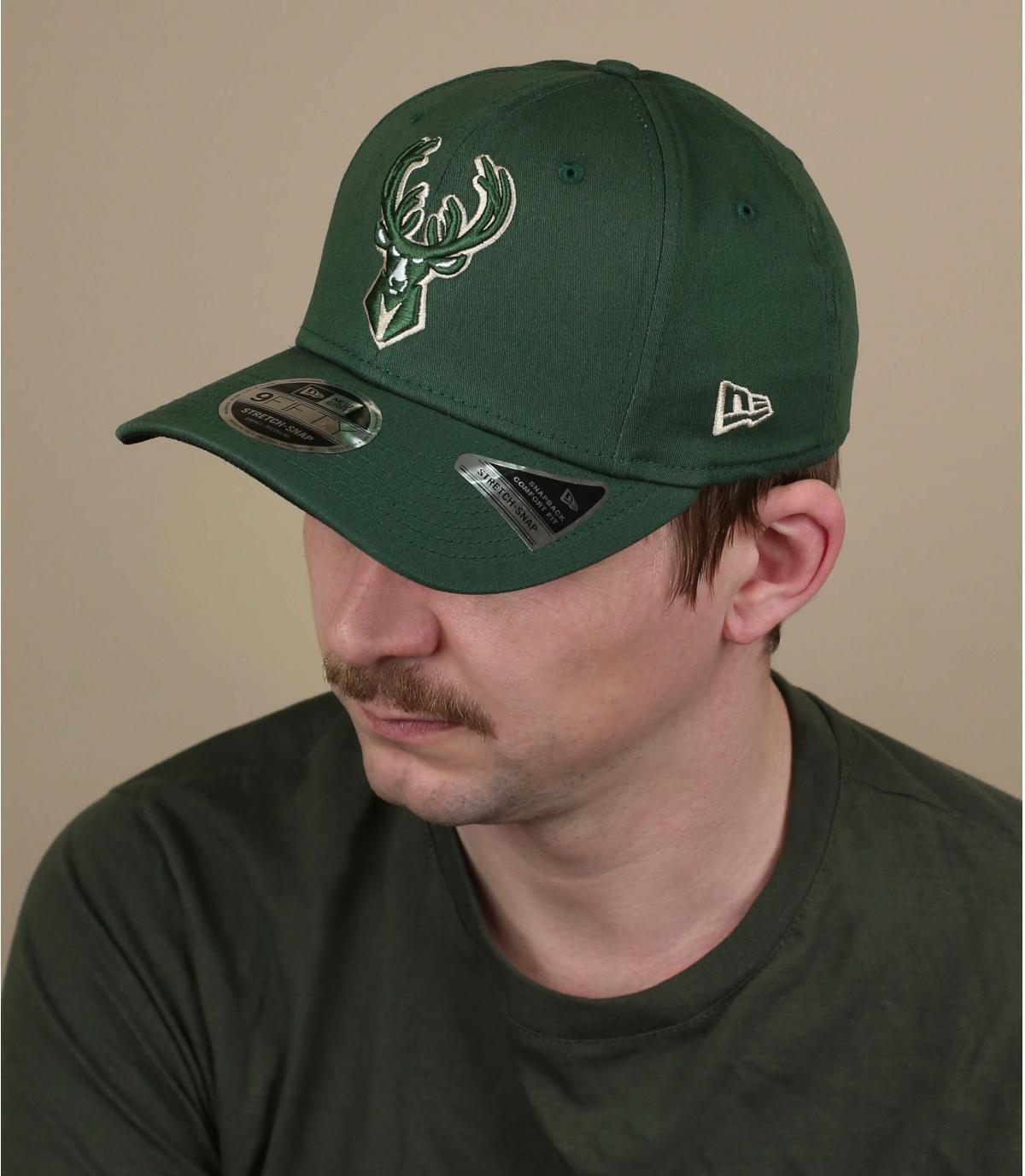 casquette Milwaukee Bucks vert