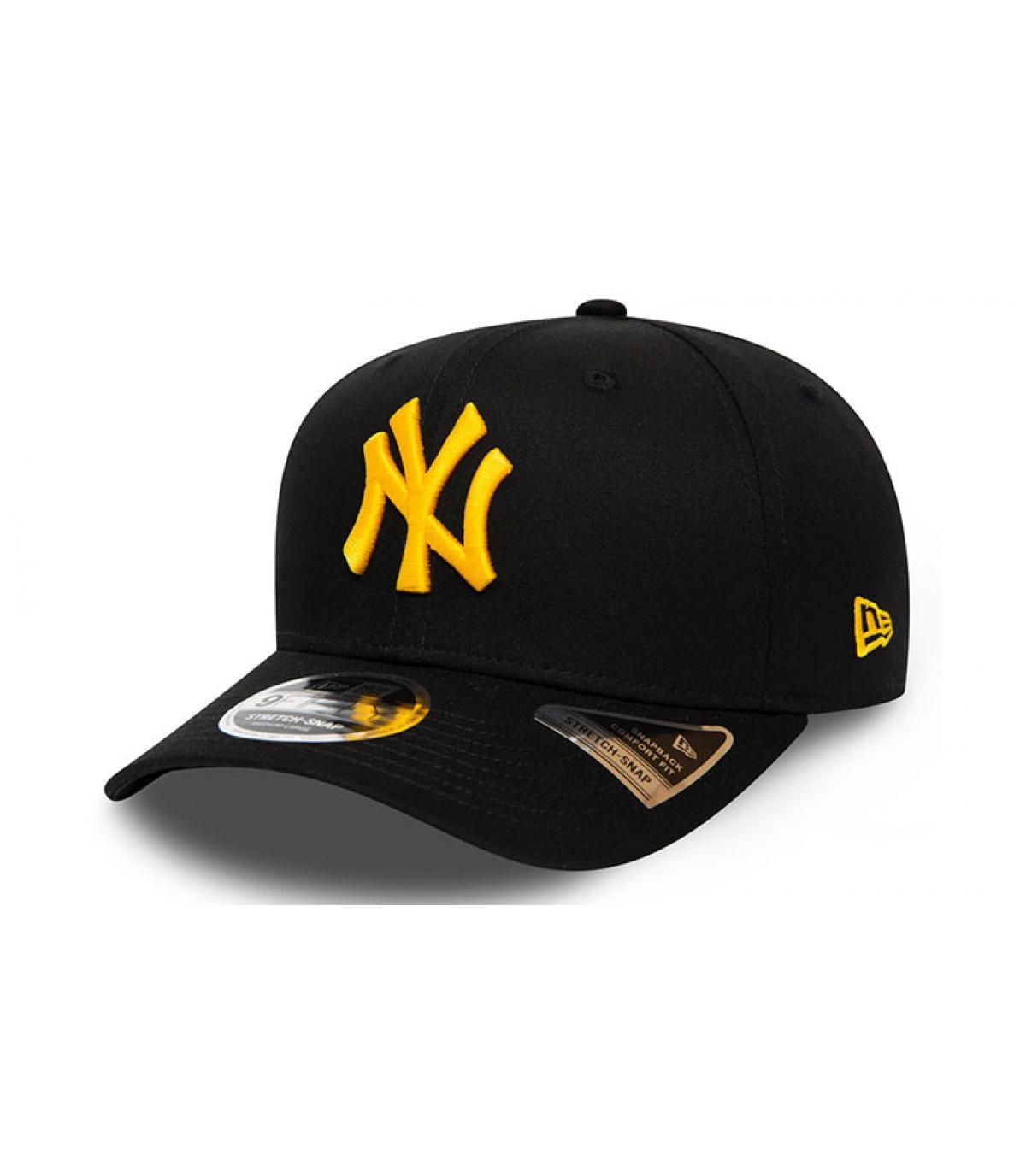 Détails Casquette League Ess 950 Stretch NY black mellow yellow - image 2