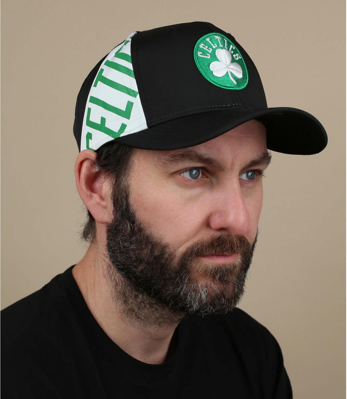casquette noire Celtics