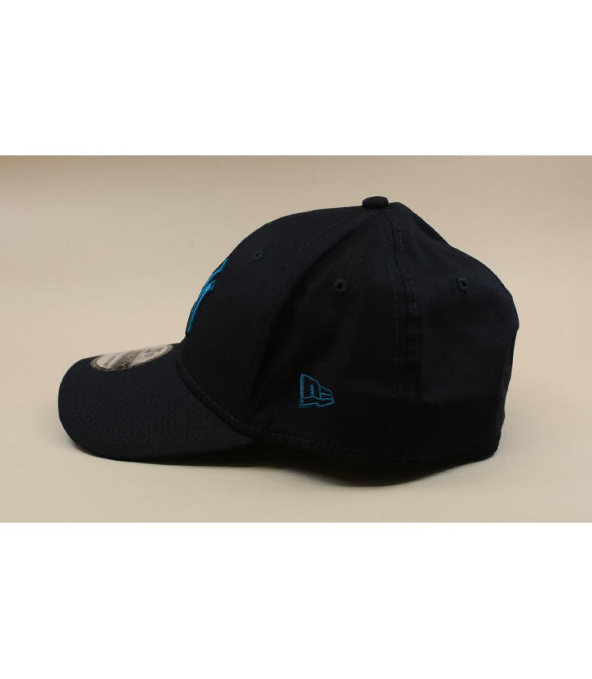 Détails Casquette Essential 3930 NY black cadet blue - image 4
