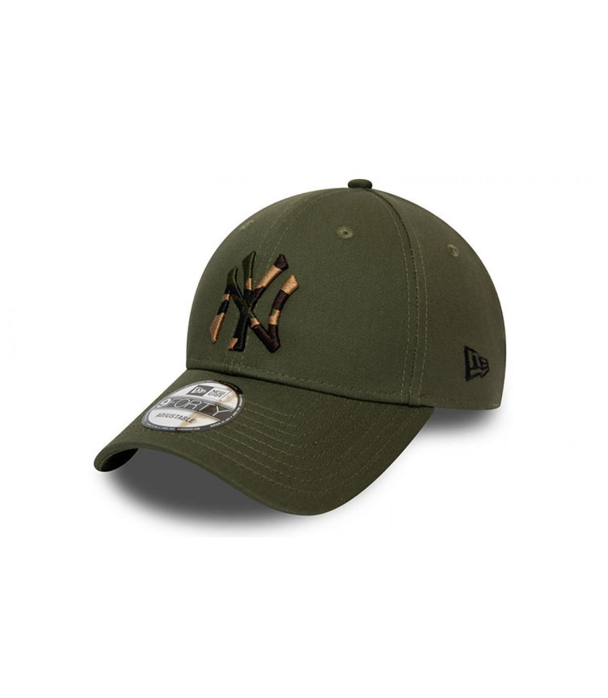 Détails Casquette Camo Infill 940 NY olive - image 2