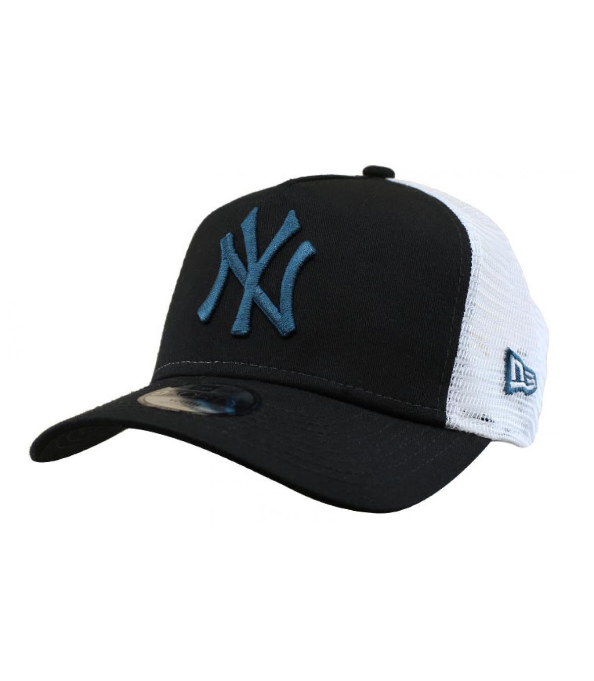 trucker NY noir bleu