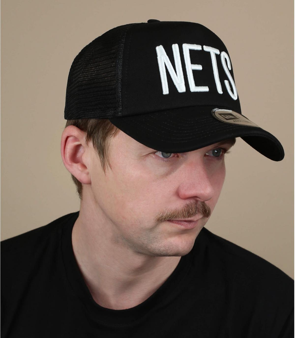 trucker Nets noir