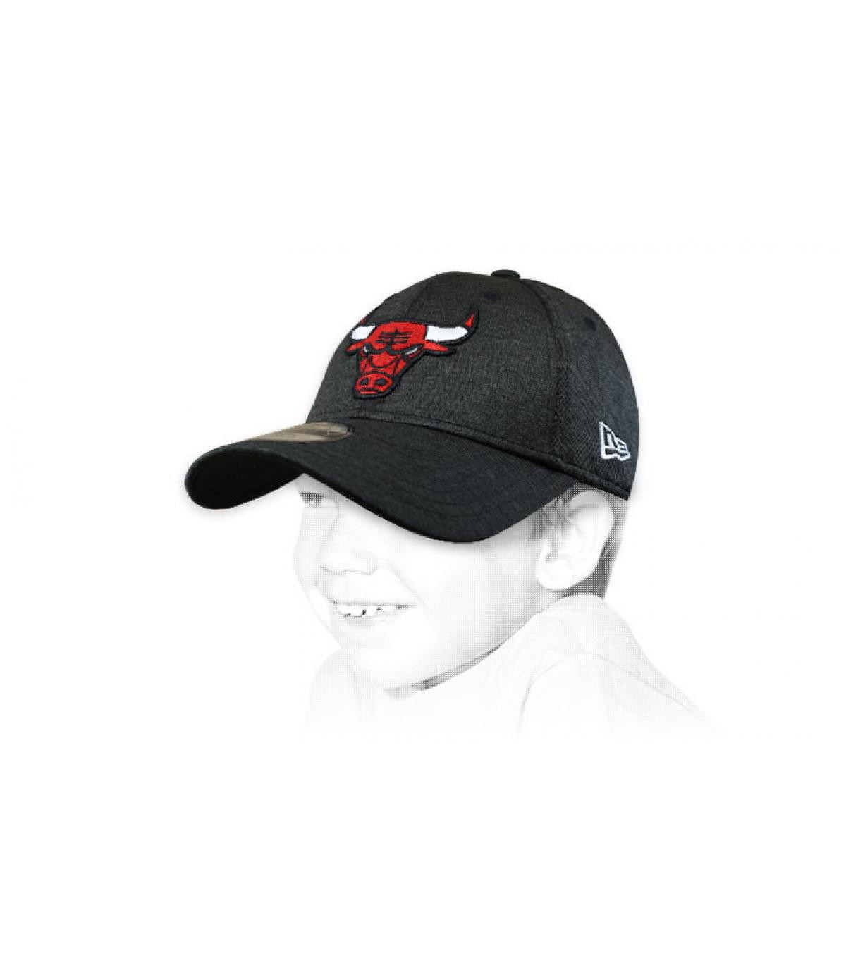 casquette enfant Bulls noir