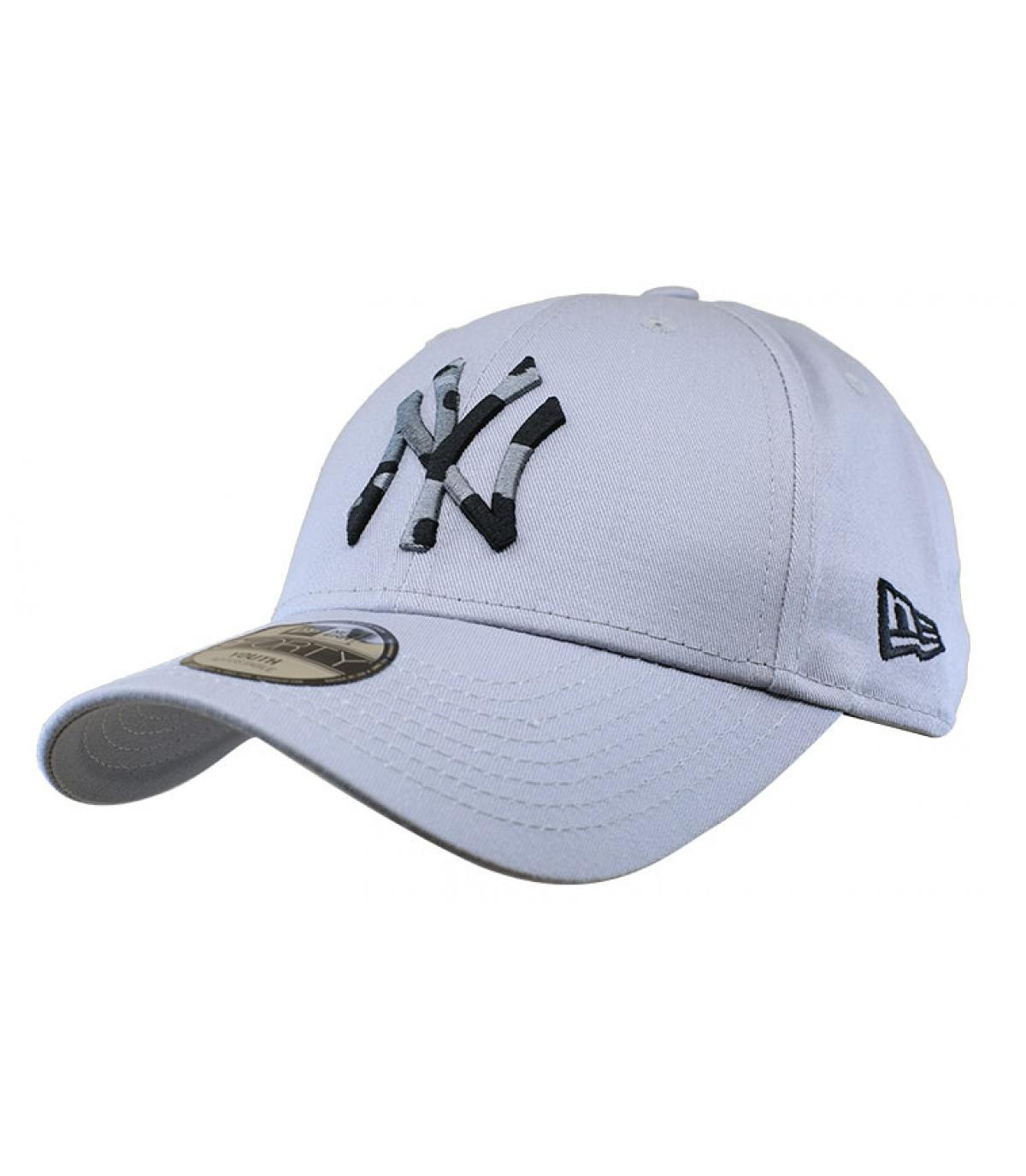 Détails Casquette Kids Camo Infill NY gray - image 2