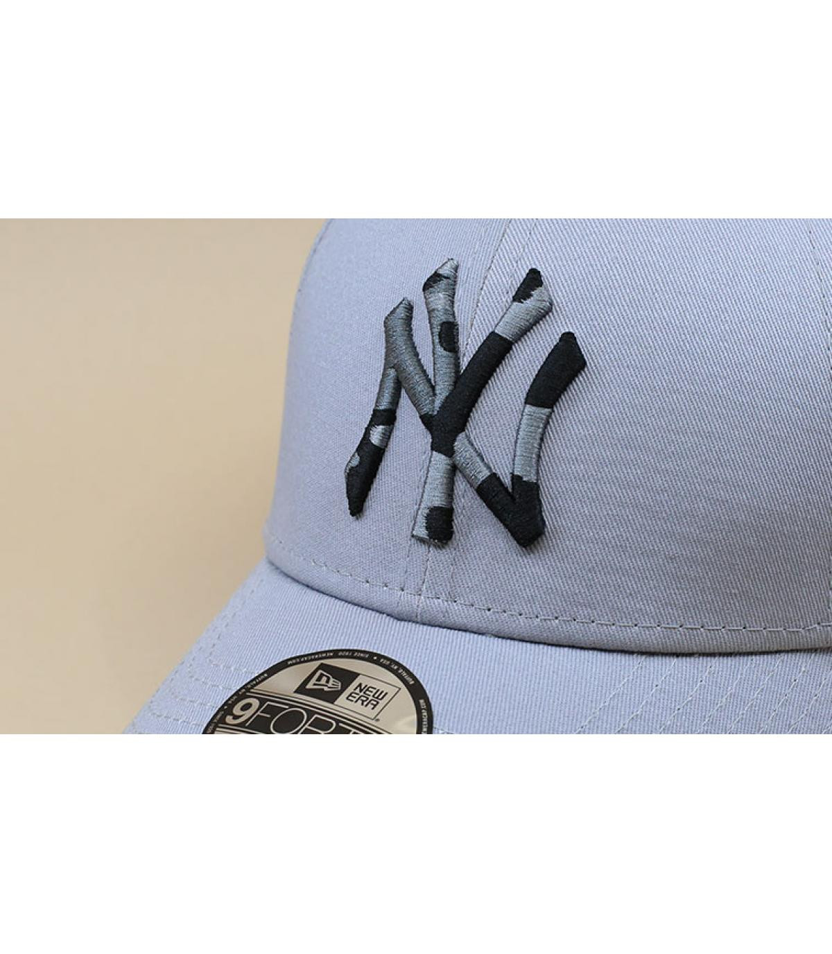Détails Casquette Kids Camo Infill NY gray - image 3
