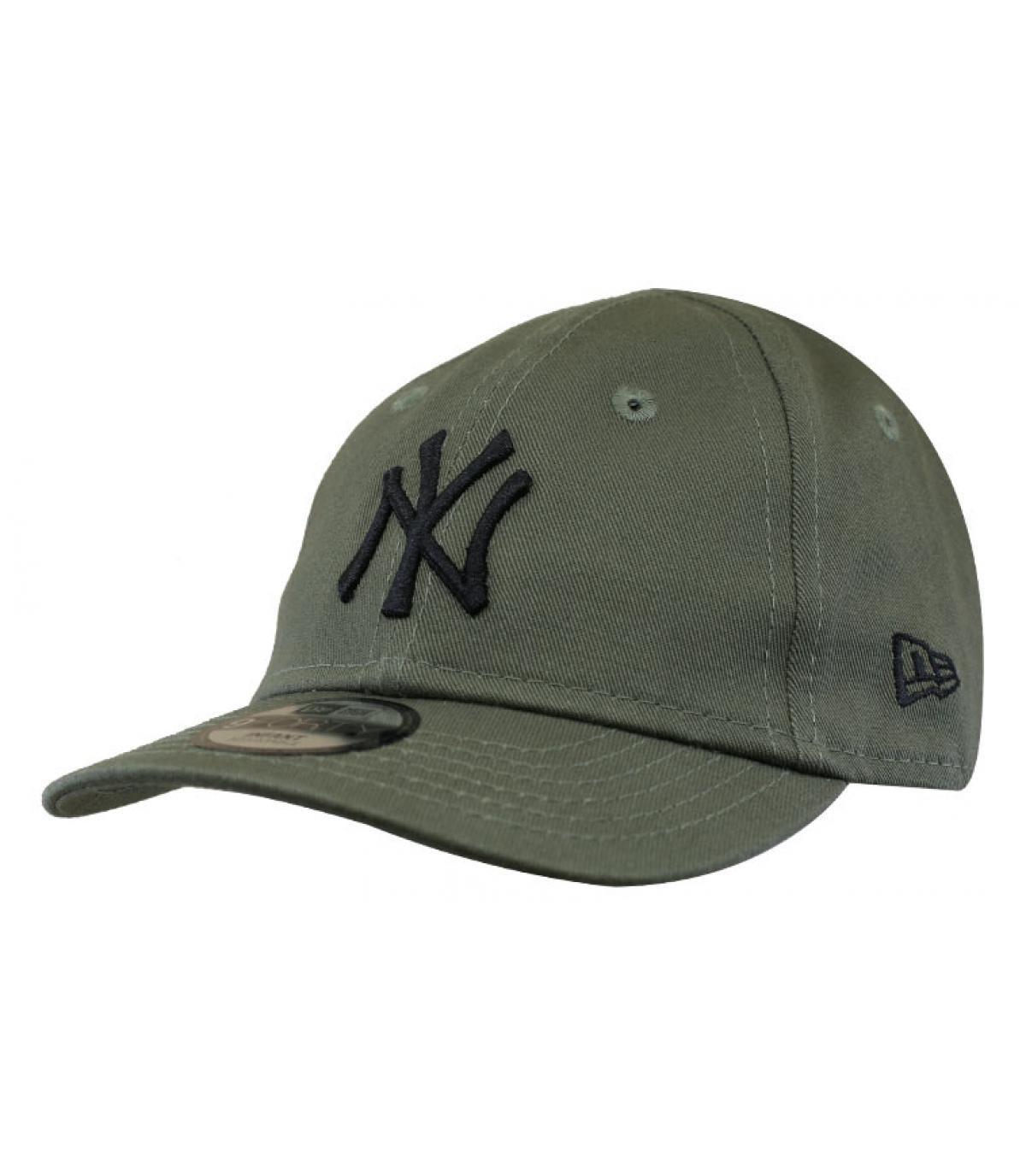 casquette bébé NY vert