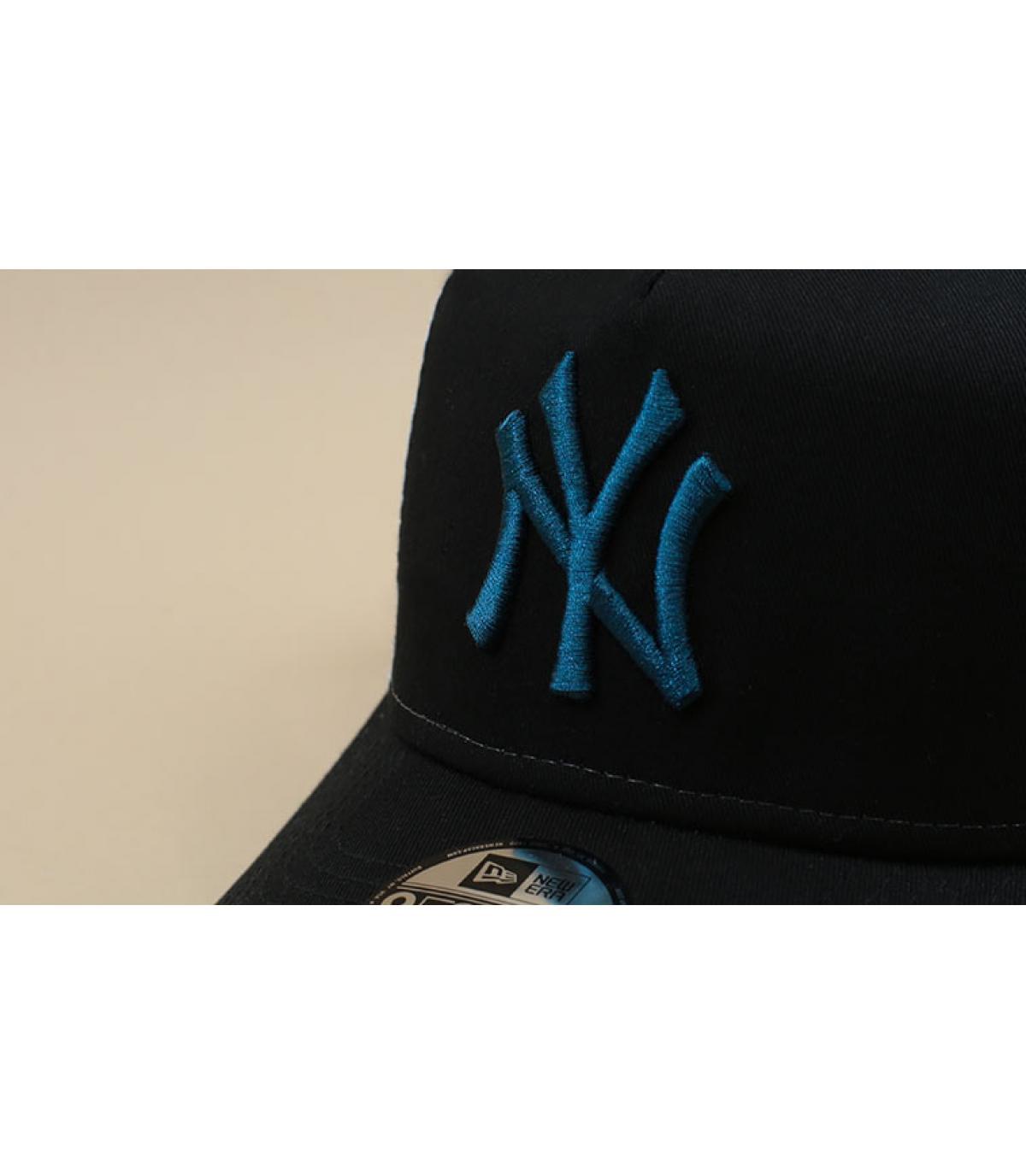 Détails Trucker Kids Ess NY black cadet blue - image 3
