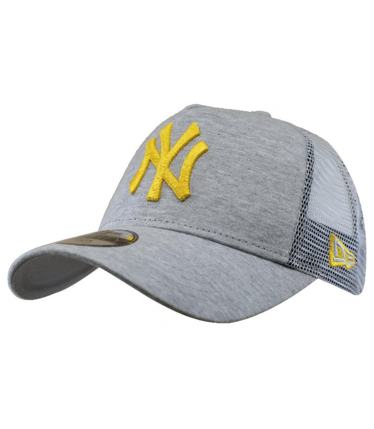 trucker enfant NY gris jaune