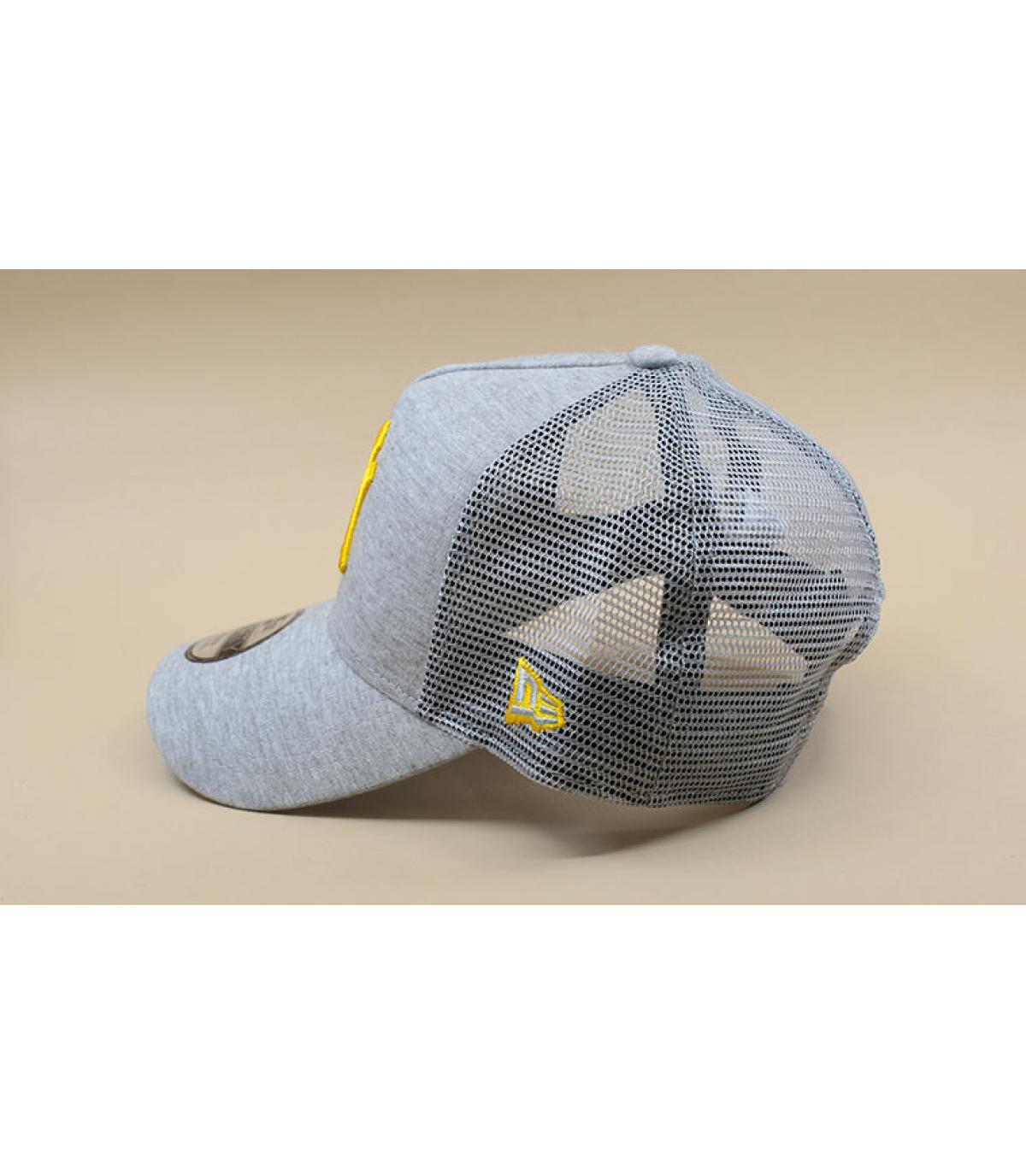 Détails Trucker Kids Jersey Ess NY grey mellow yellow - image 4