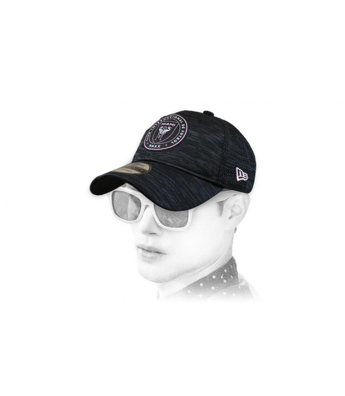 casquette Inter Miami noir