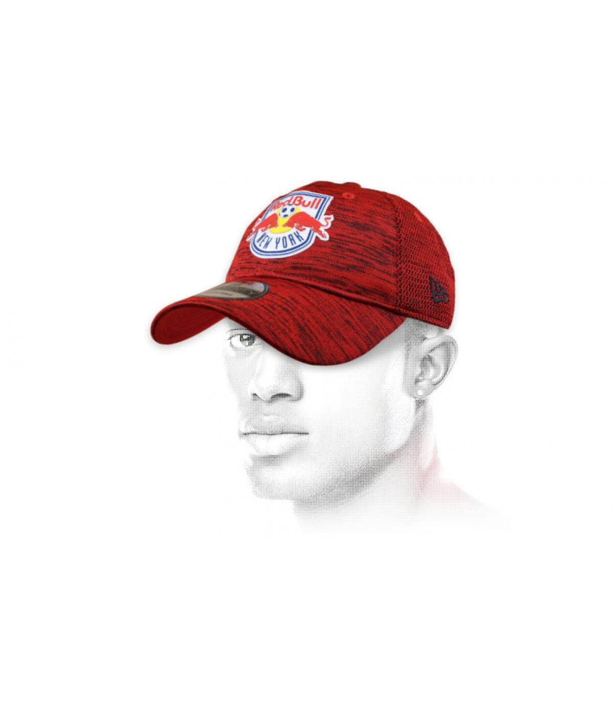 casquette NY Red Bulls rouge