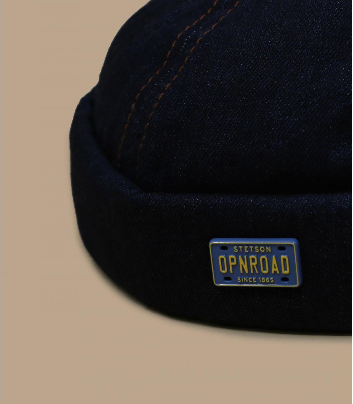 bonnet docker denim Stetson