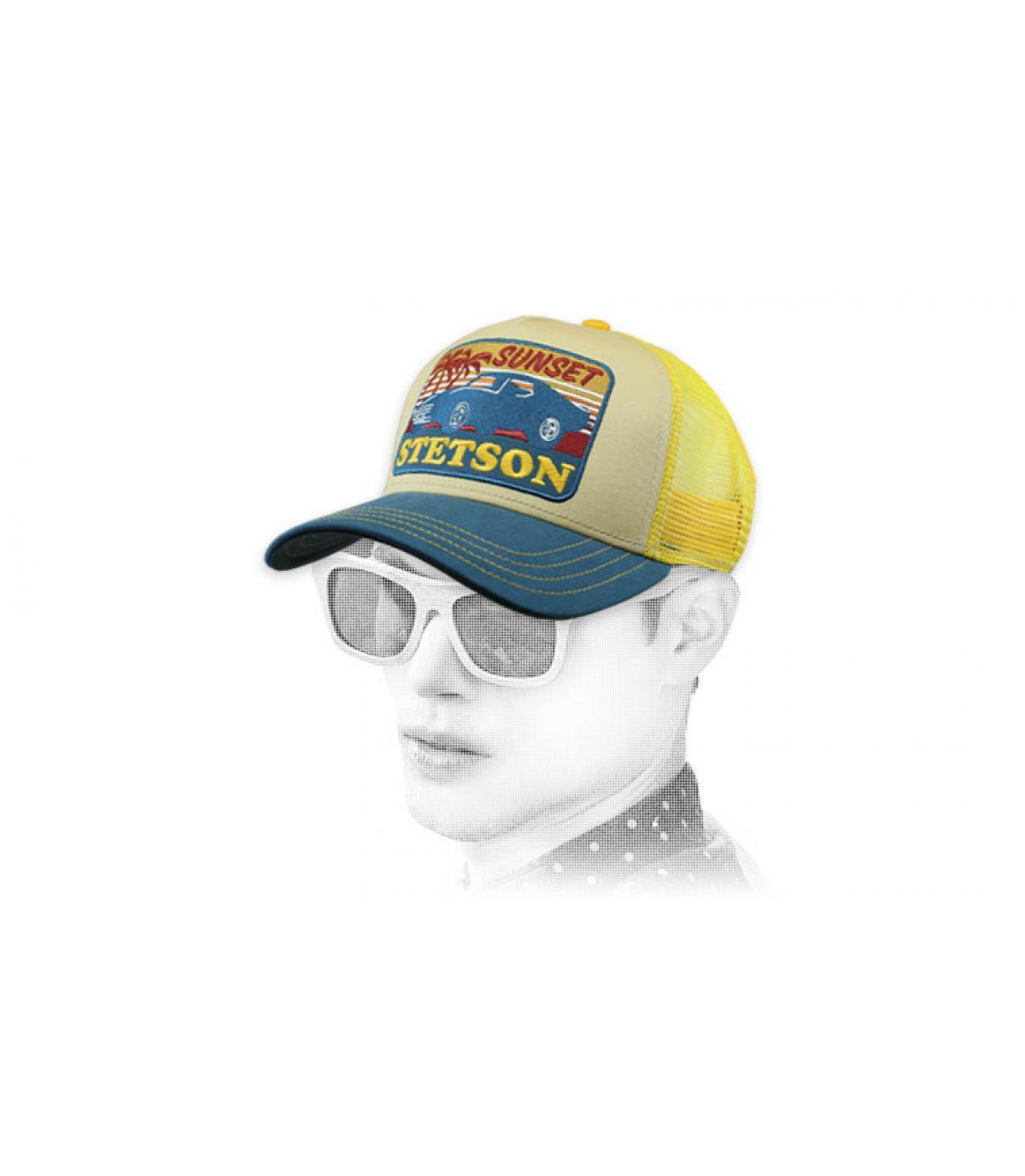 trucker Stetson jaune