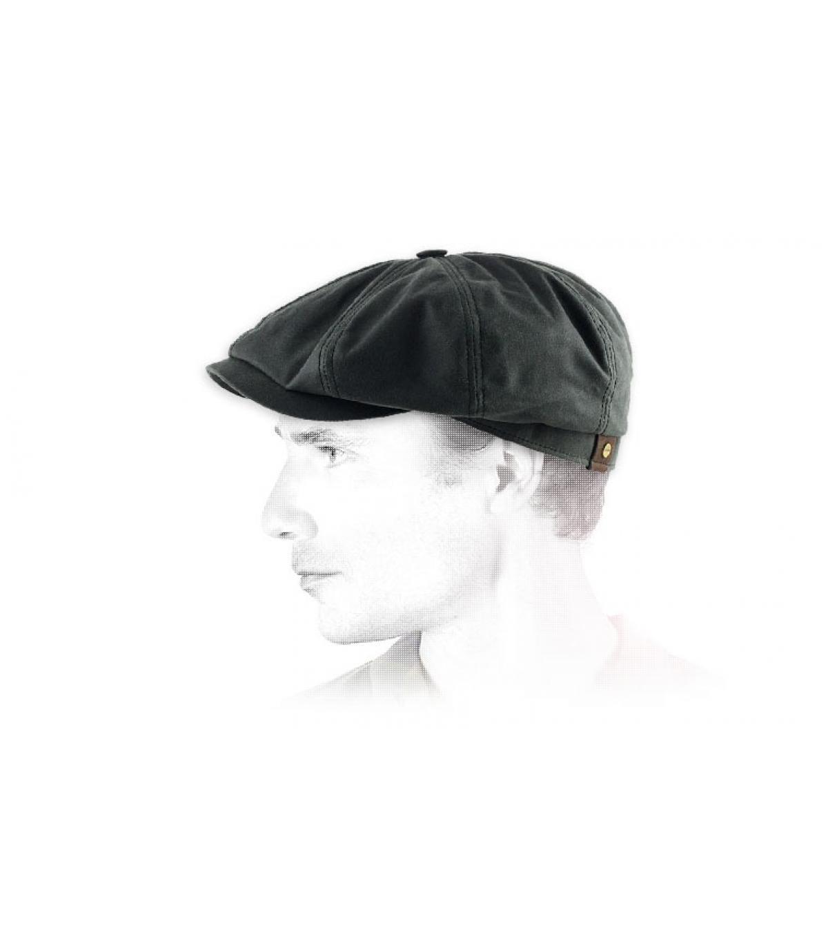 Détails Hatteras noir coton huilé - image 2