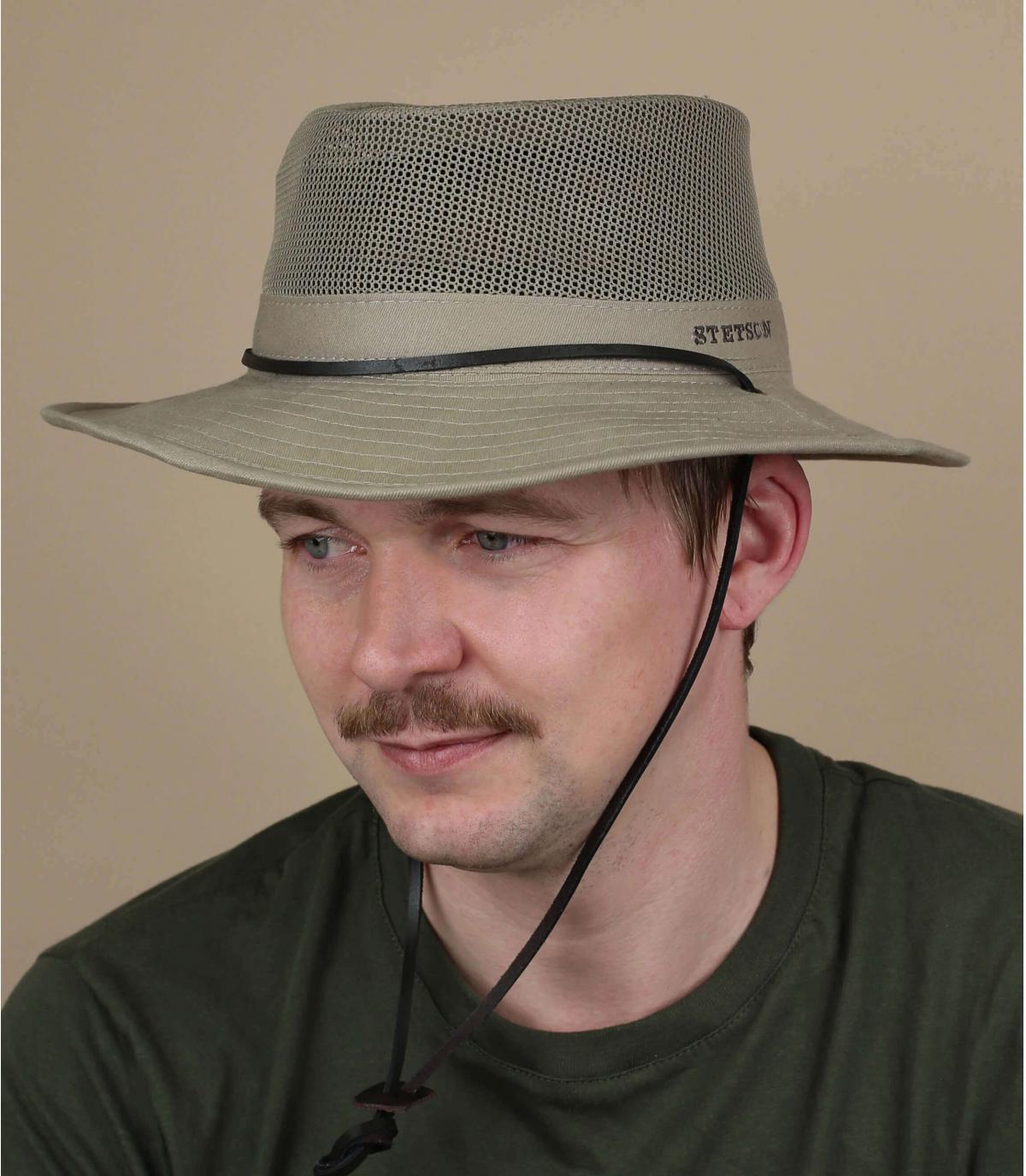 chapeau ventilé Stetson