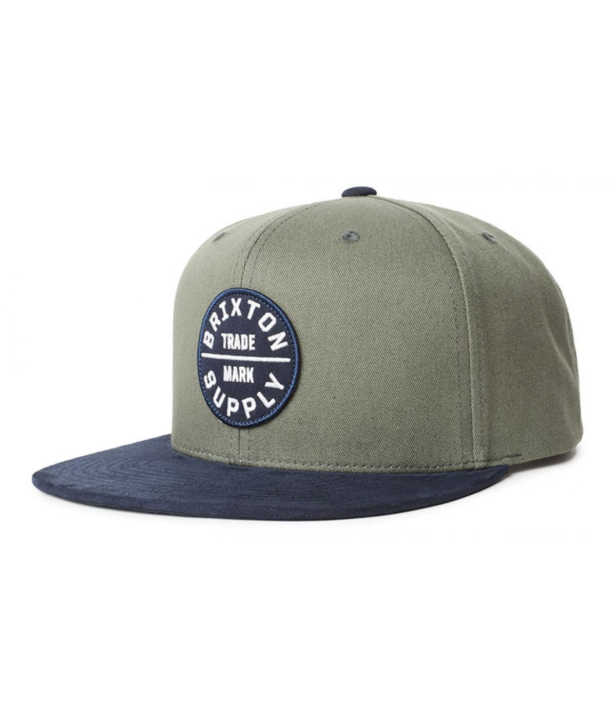 Détails Oath III Snapback cypress washed navy - image 2