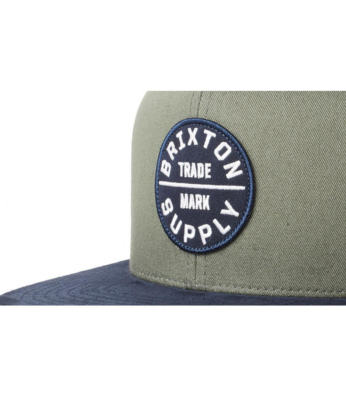 Détails Oath III Snapback cypress washed navy - image 3