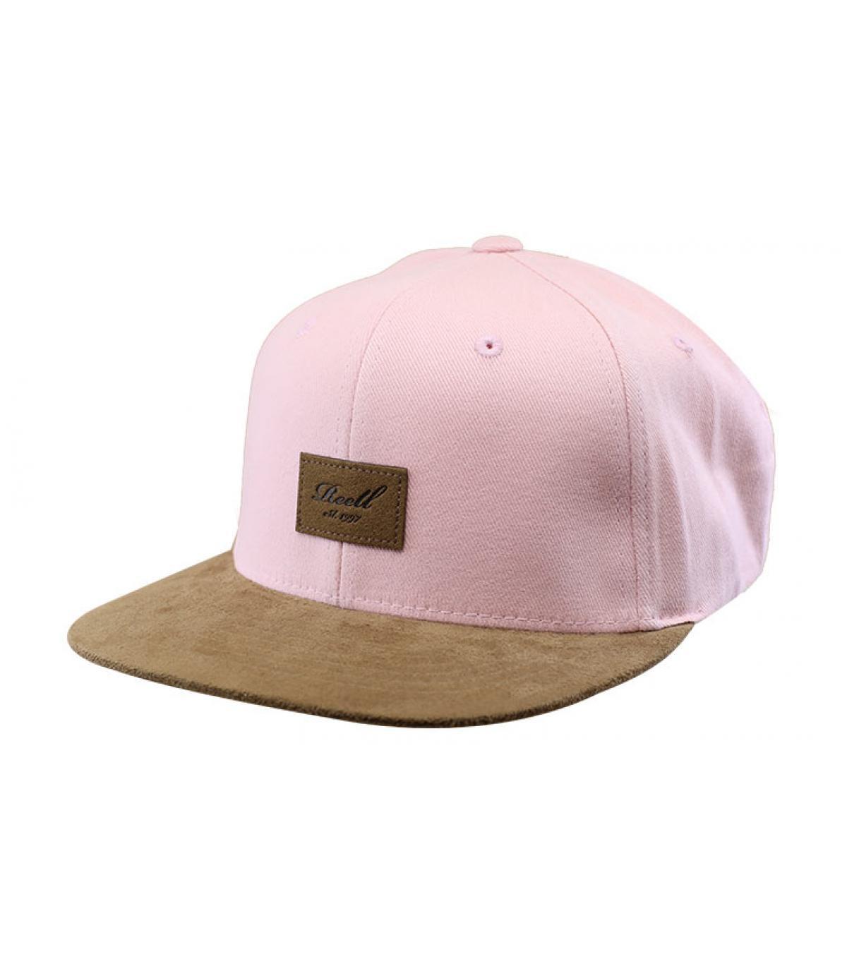 Détails Suede Cap dusty pink - image 2