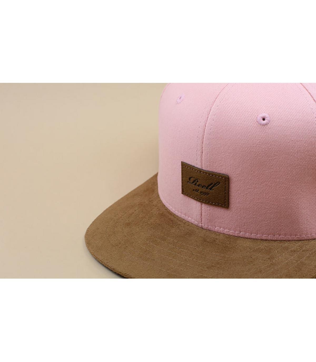 Détails Suede Cap dusty pink - image 3