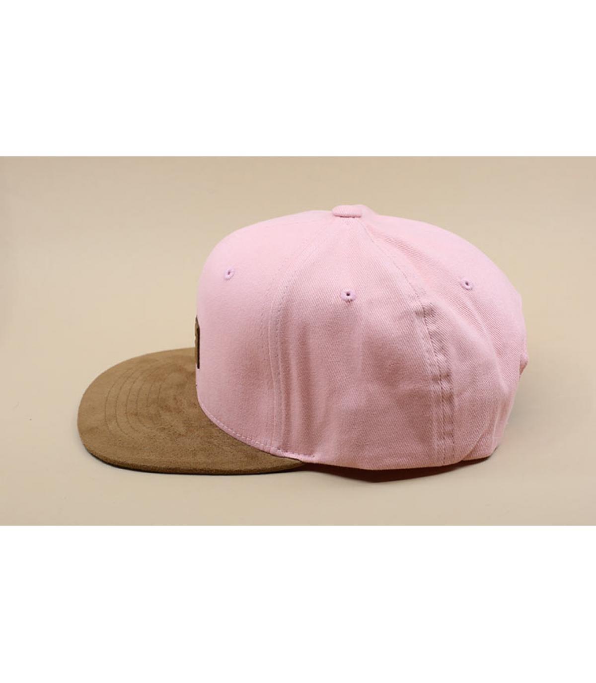Détails Suede Cap dusty pink - image 4