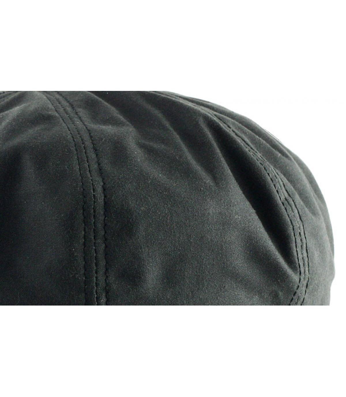 Détails Hatteras noir coton huilé - image 3