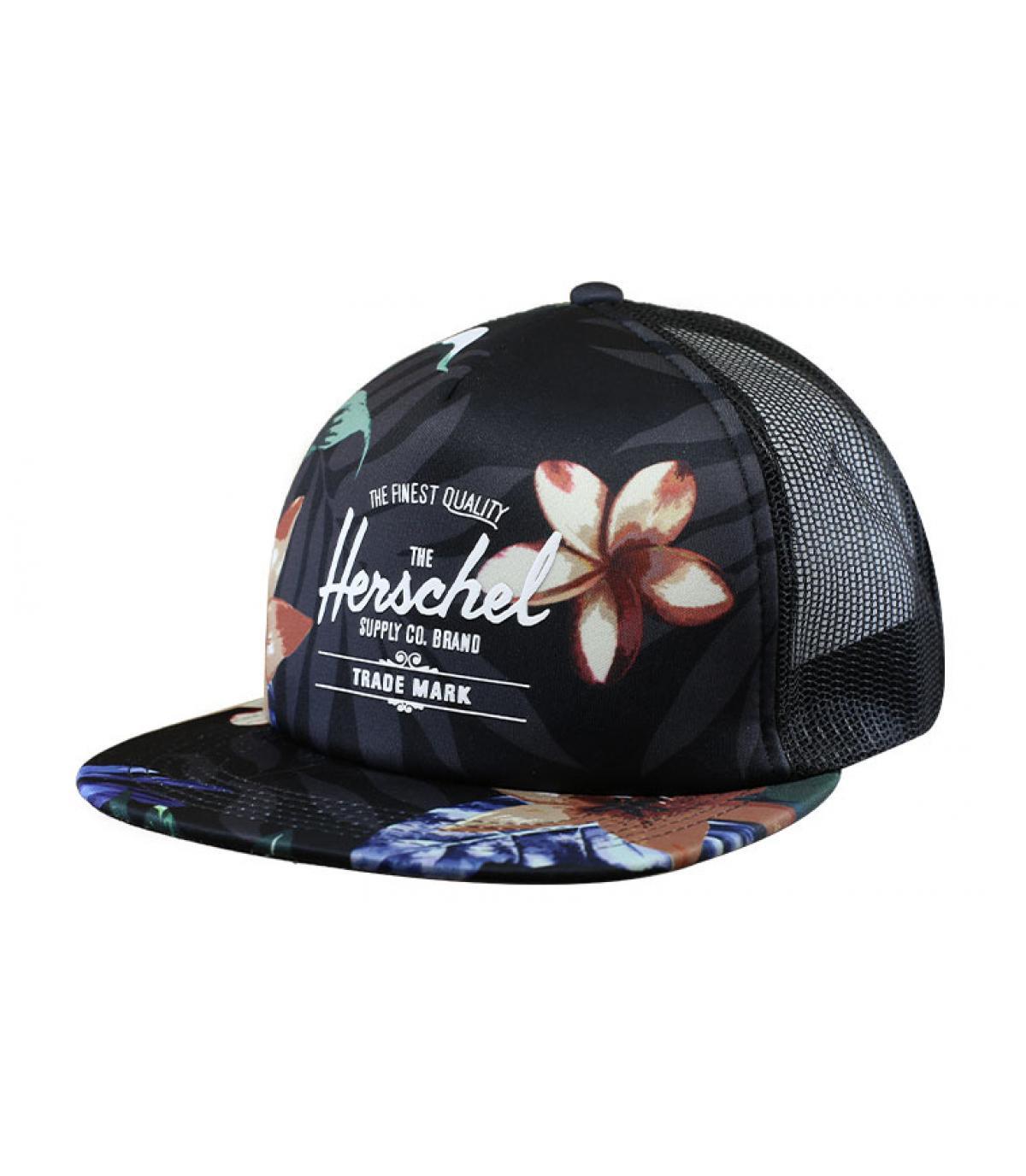 trucker Herschel imprimé fleur