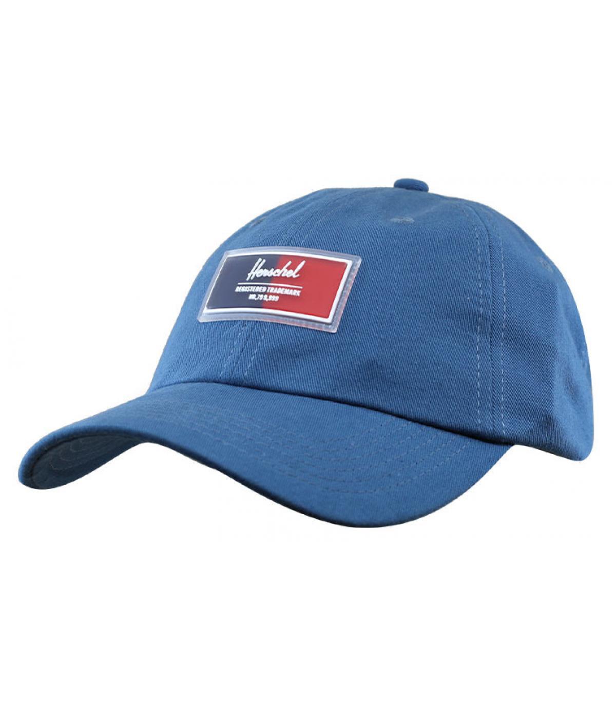 casquette bleu gris Herschel