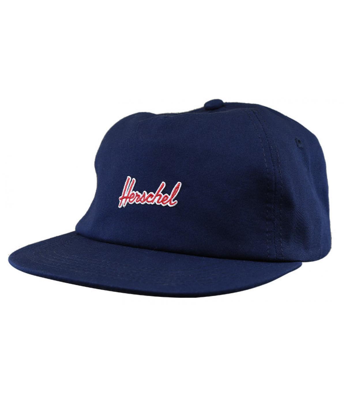 casquette Herschel bleu marine