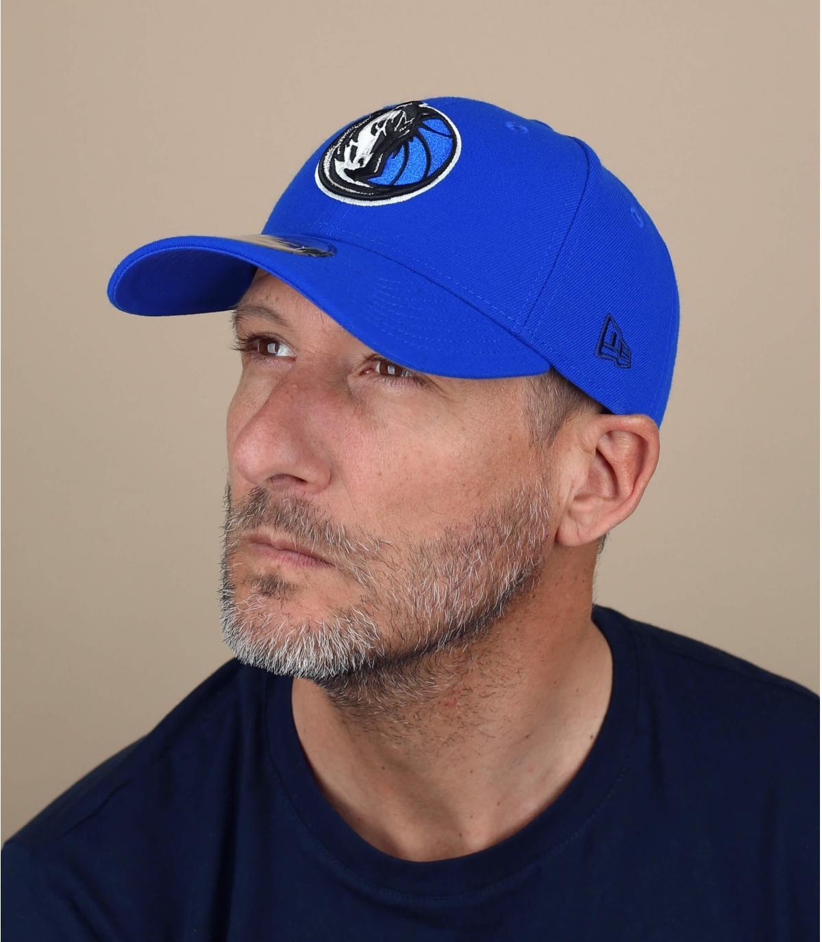 cap curve Yankees bleue