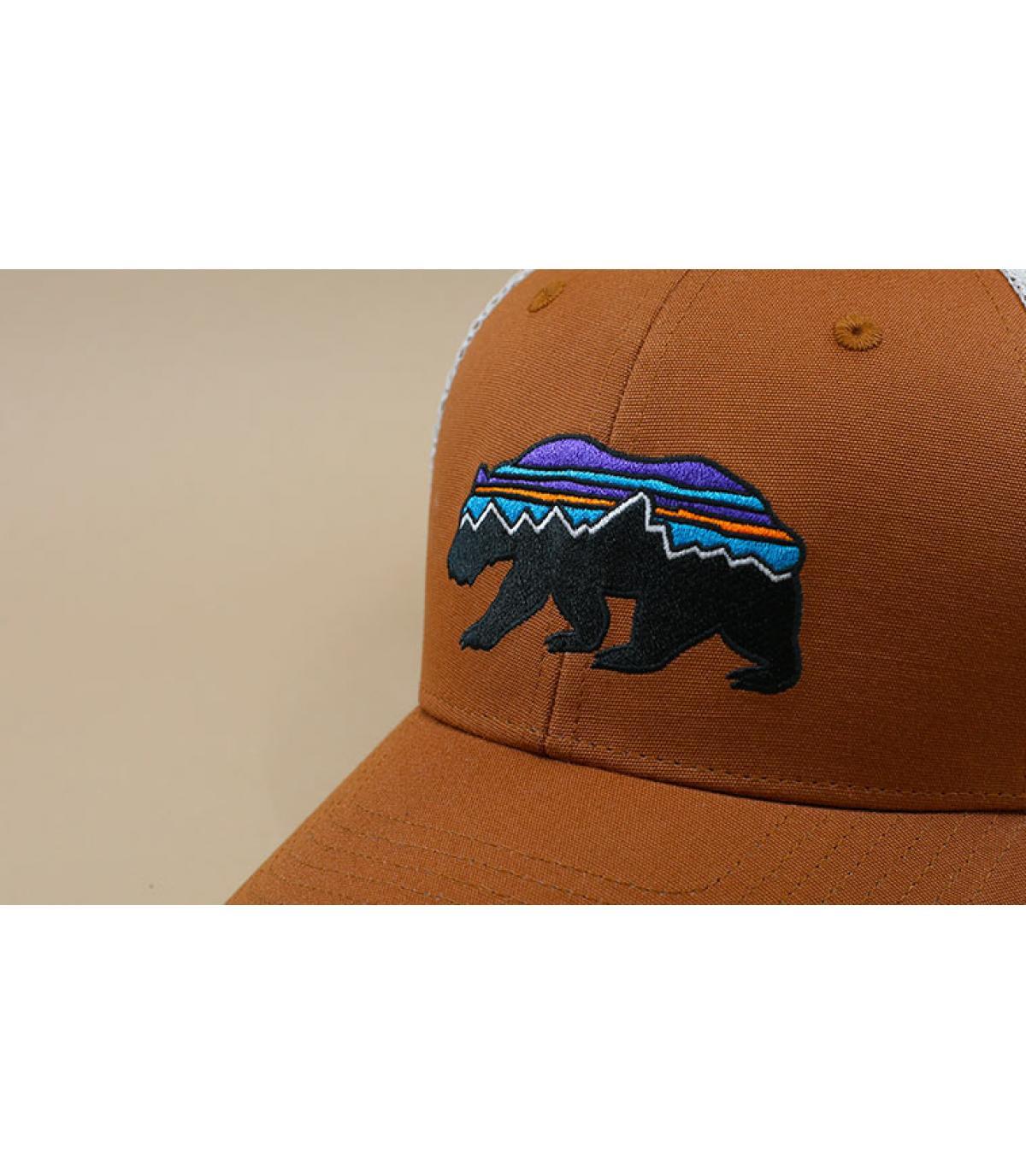 Détails Fitz Roy Bear Trucker earthworm brown - image 3