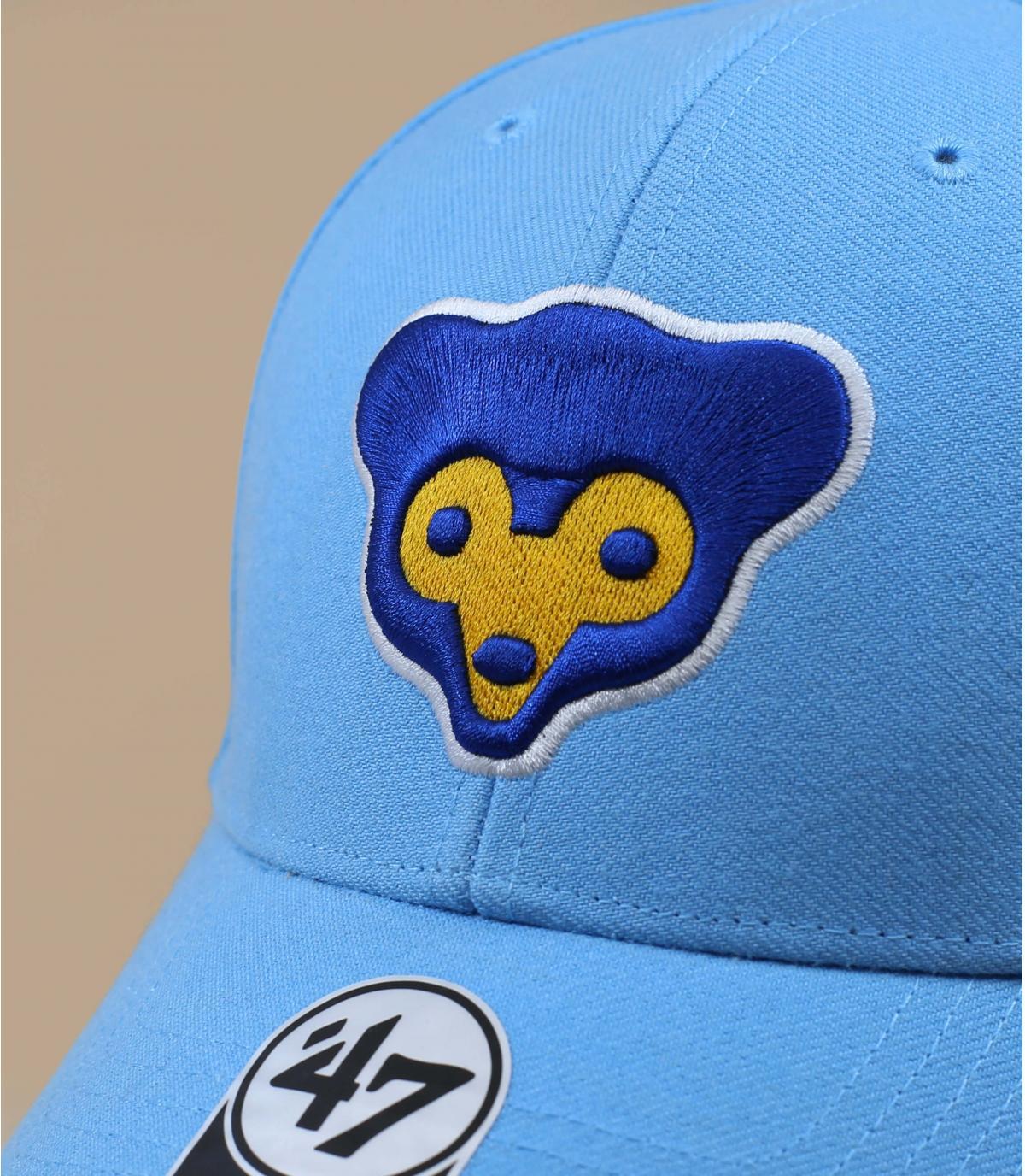 casquette Cubs bleu
